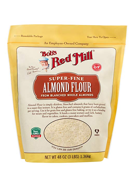 Almond Flour brings gluten free baked goods back into my life.