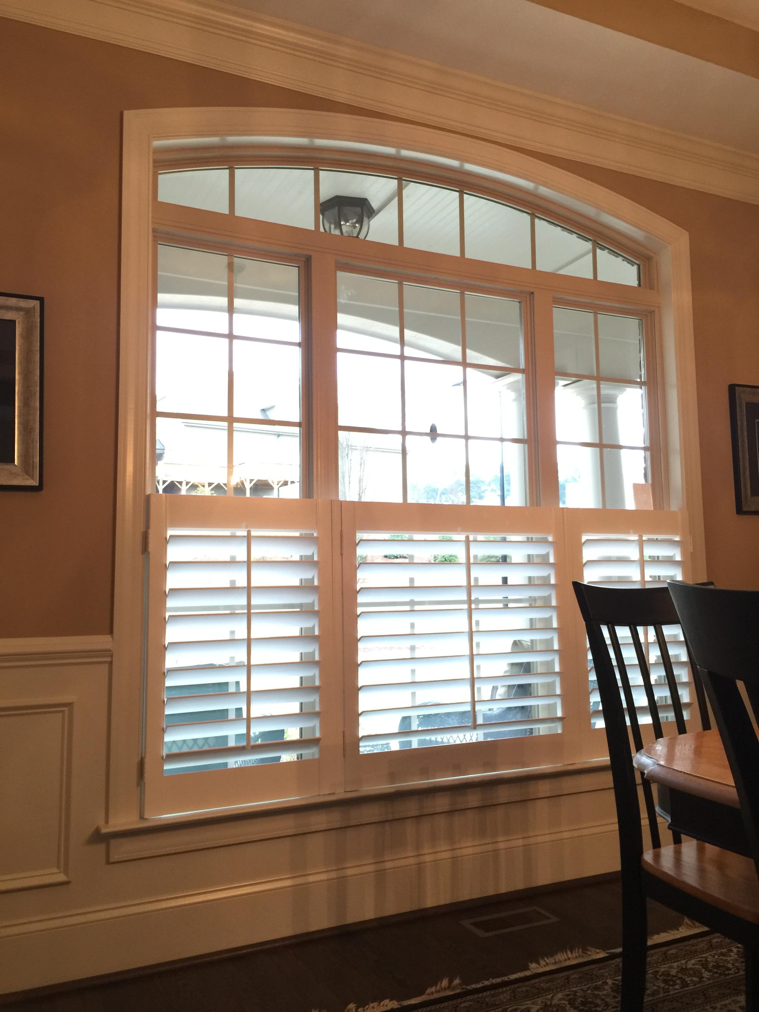 Cafe Style Single Panel Per Window