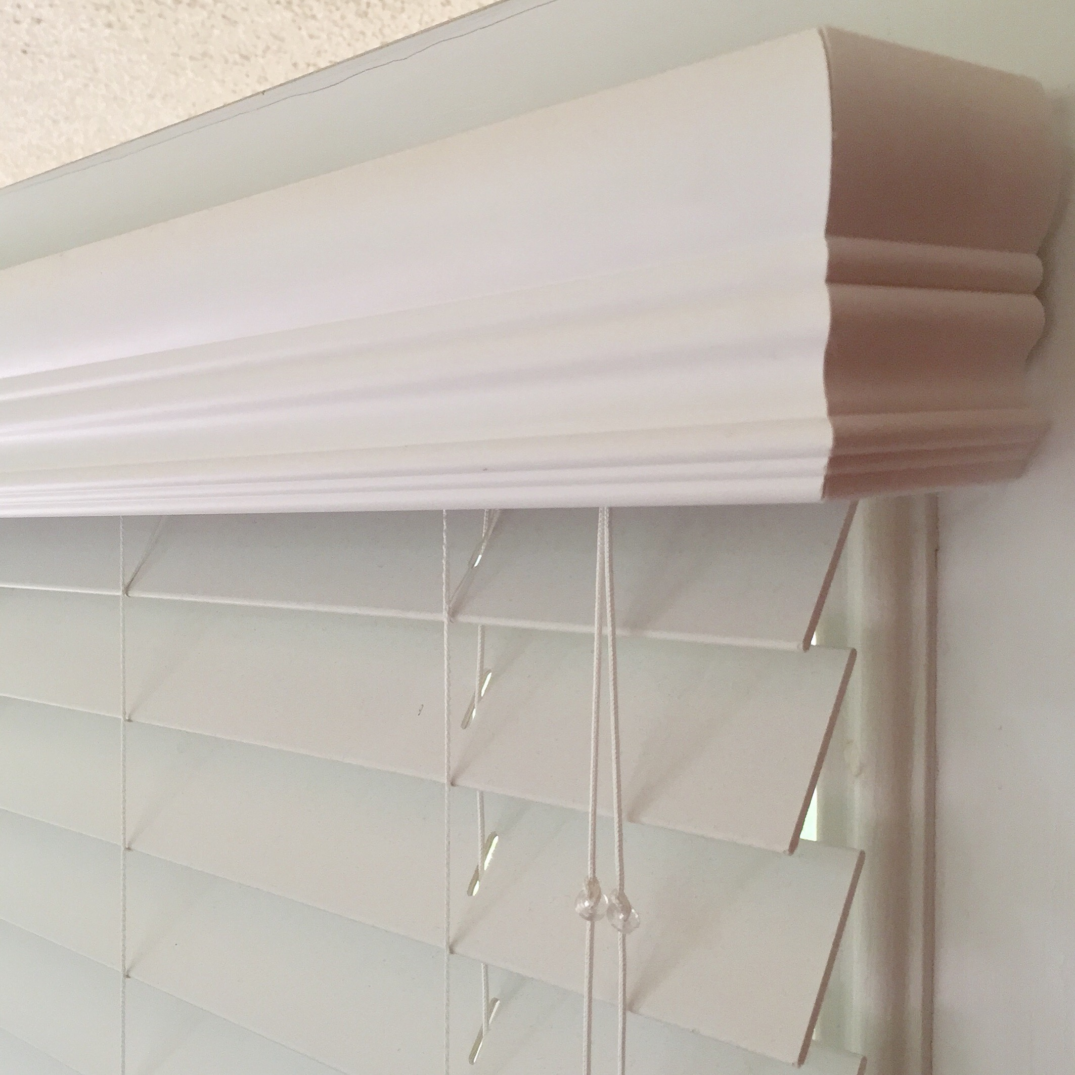 Faux & True Wood Blinds  - hundreds of material choices with decorative drown valances and multiple operating systems including Child Safe Certified
