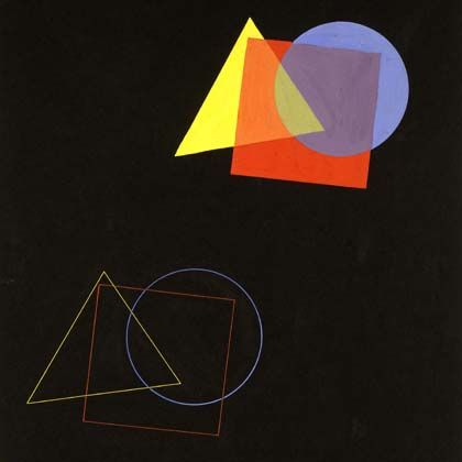 Eugen Batz, Exercise for color-theory course taught by Vasily Kandinsky.