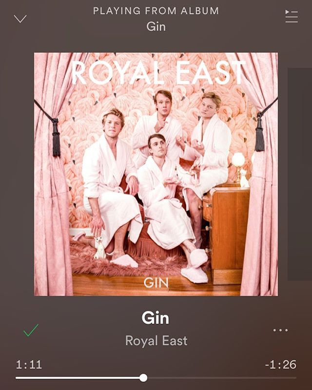 Our brand of Gin is live on Spotify! 🍸 Have a listen on the link in our bio 😘