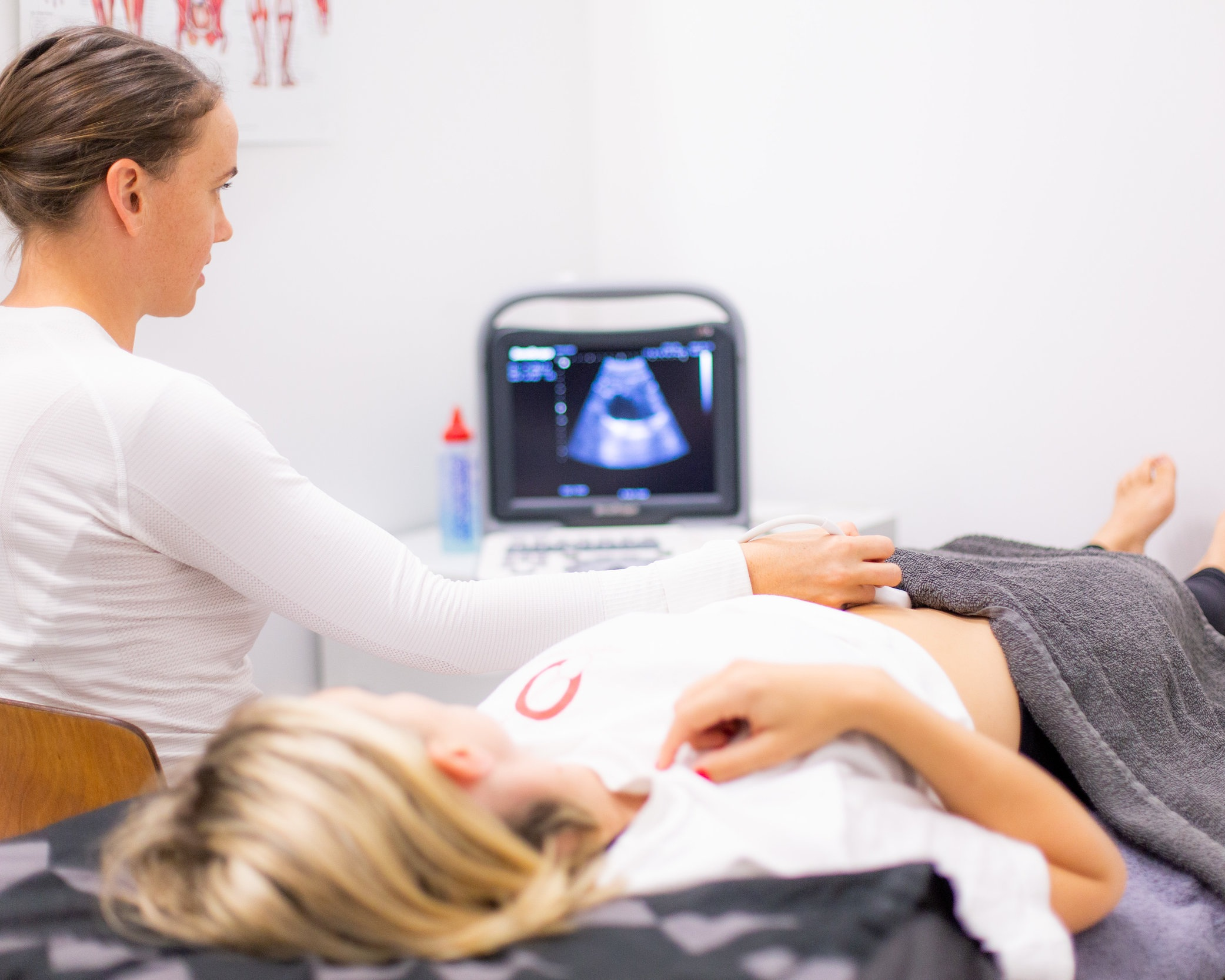 Ultrasound of the pelvic floor muscles