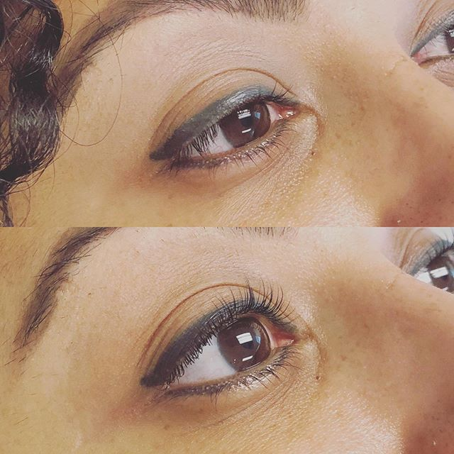 The Lash Lift and Tint speaks for itself! . . It brings the lash game to another level🔝 . . 🚫No more lash curlers! What a sweet treat! 🥰