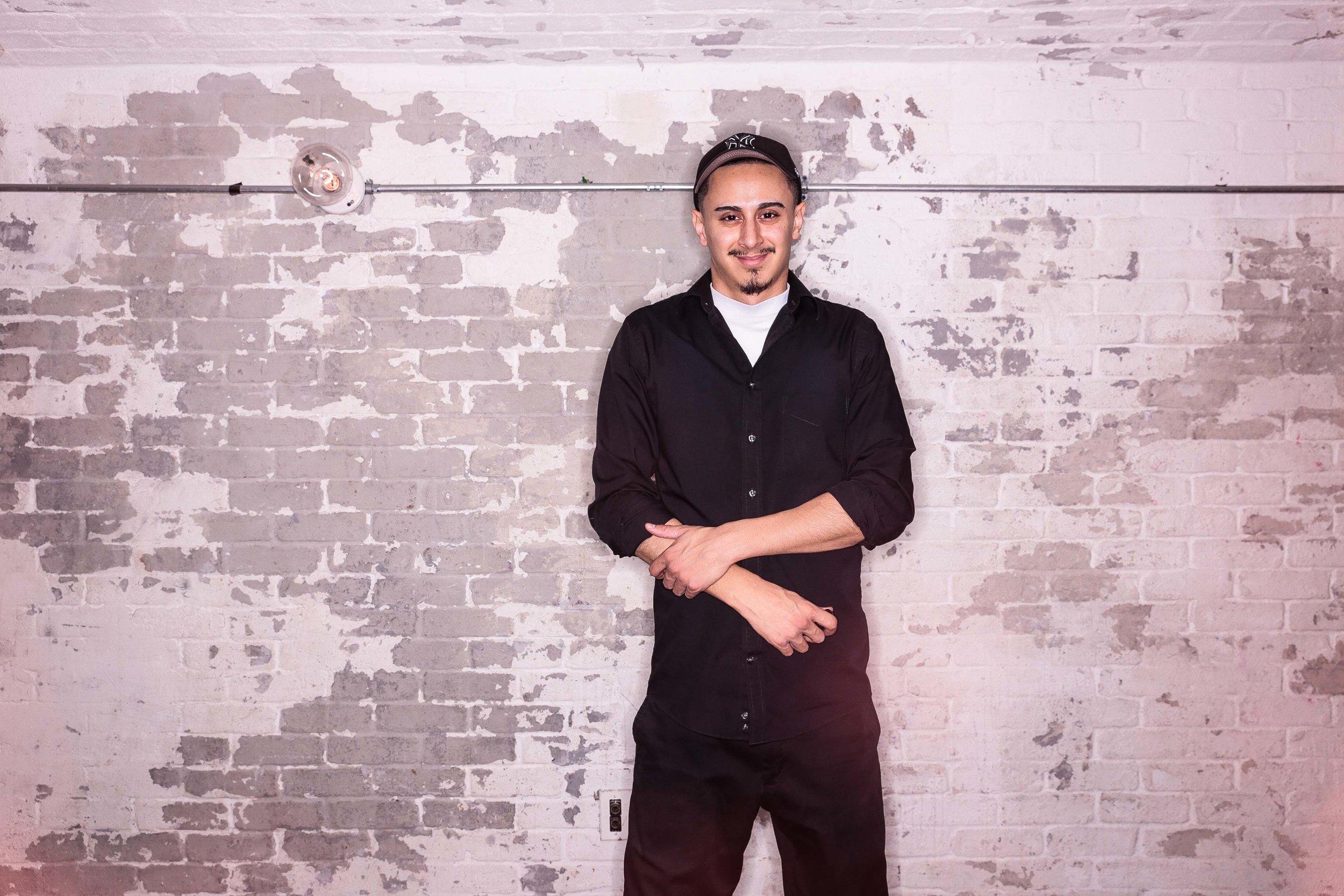 Carlos Carcamo - Studio Assistant