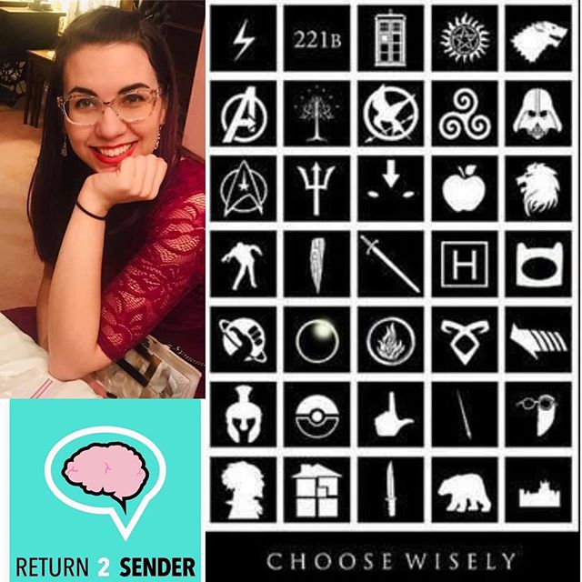 Don't forget to check out #episode 56 with our resident #fangirl Margery Bayne! Come discuss the history of #fandoms and how they look today. Listen on iTunes or return2senderpodcast.com