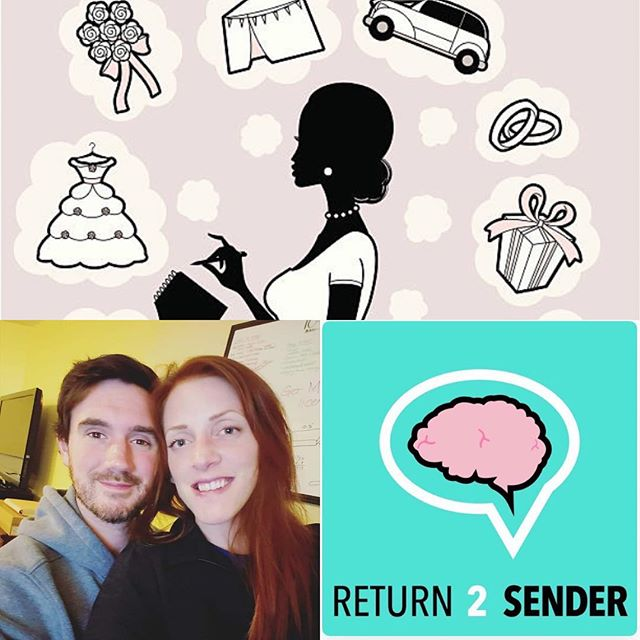 Check out episode 57 to hear from some #millennials in the heat of wedding planning! With one month and one week to go - Taylor and Ian talk about the food, venue, and seating charts! #podcast #weddings