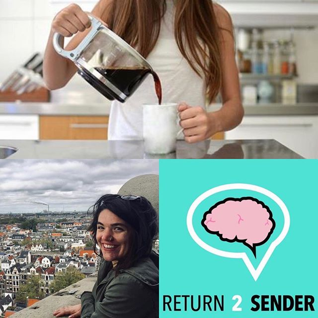 Today's new episode just dropped! Join Allie, Jake, and Katie while we discuss #millennial #coffeeculture listen on iTunes or return2senderpodcast.com