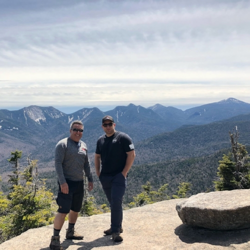 Summit shot with my dad