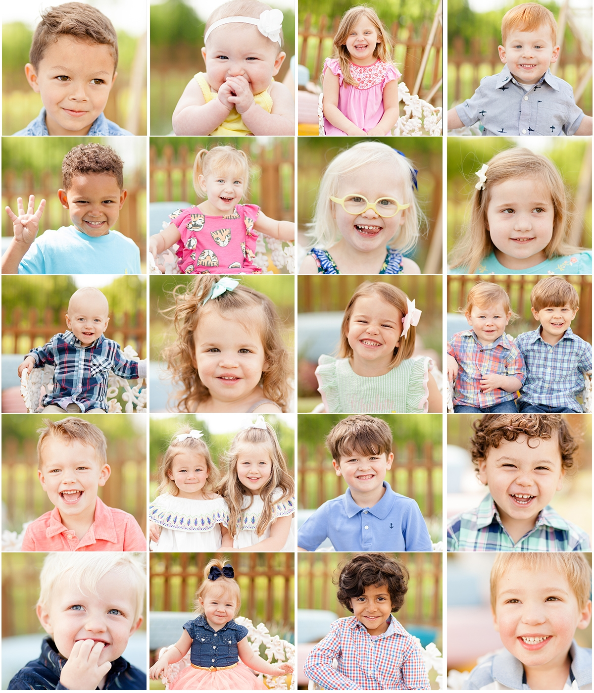 school pictures outside