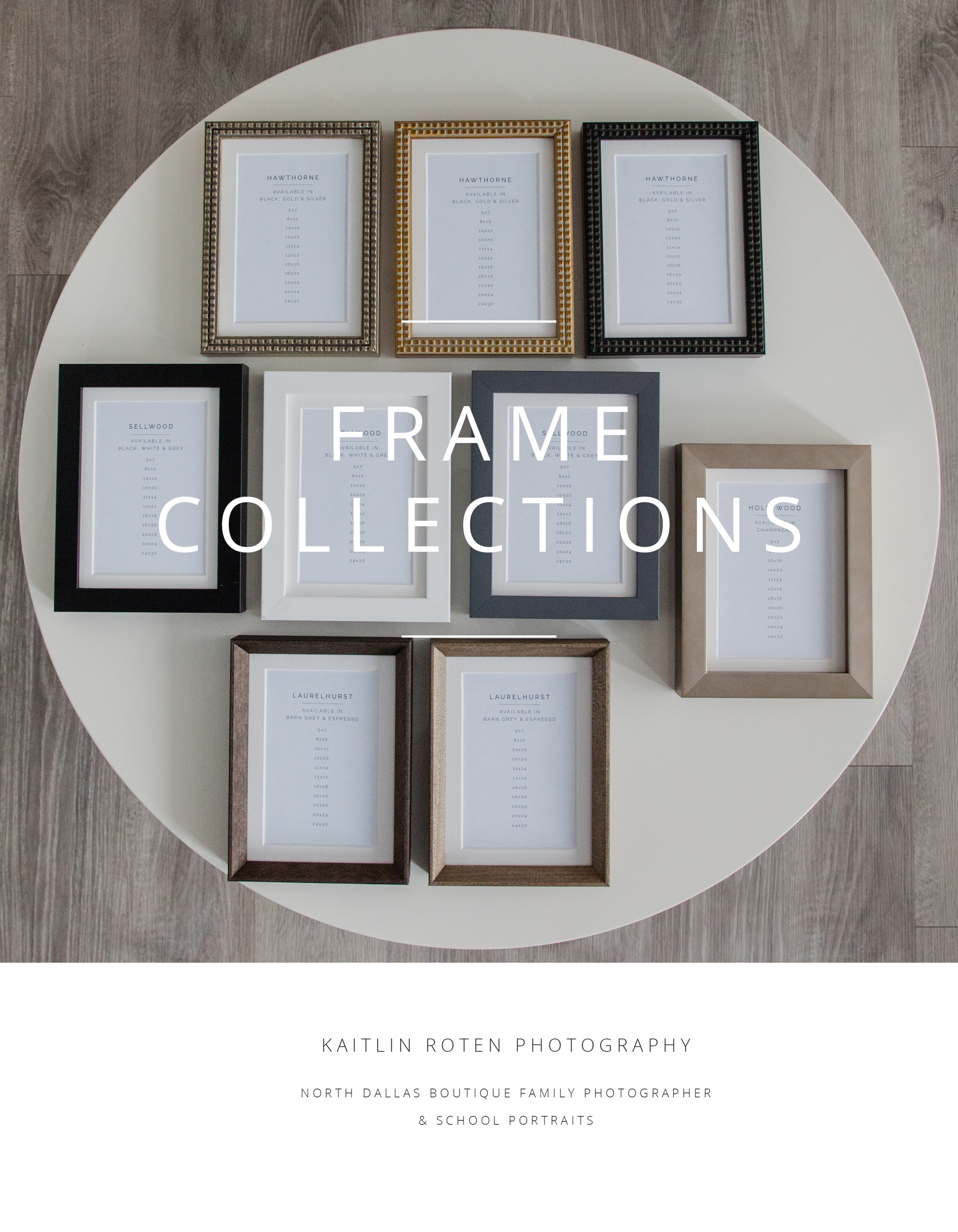 Professional Photo Products Frames