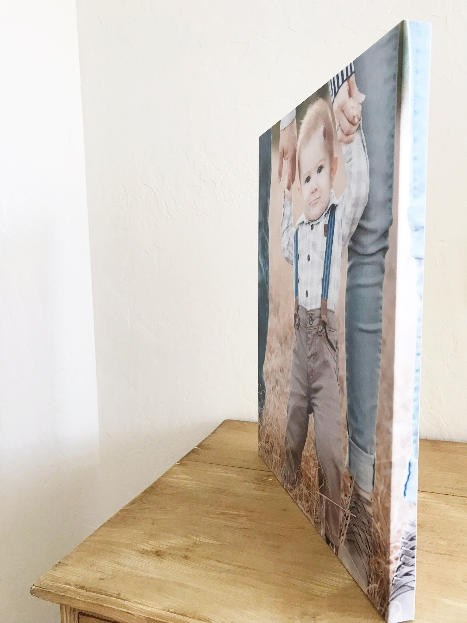 Photo product canvas