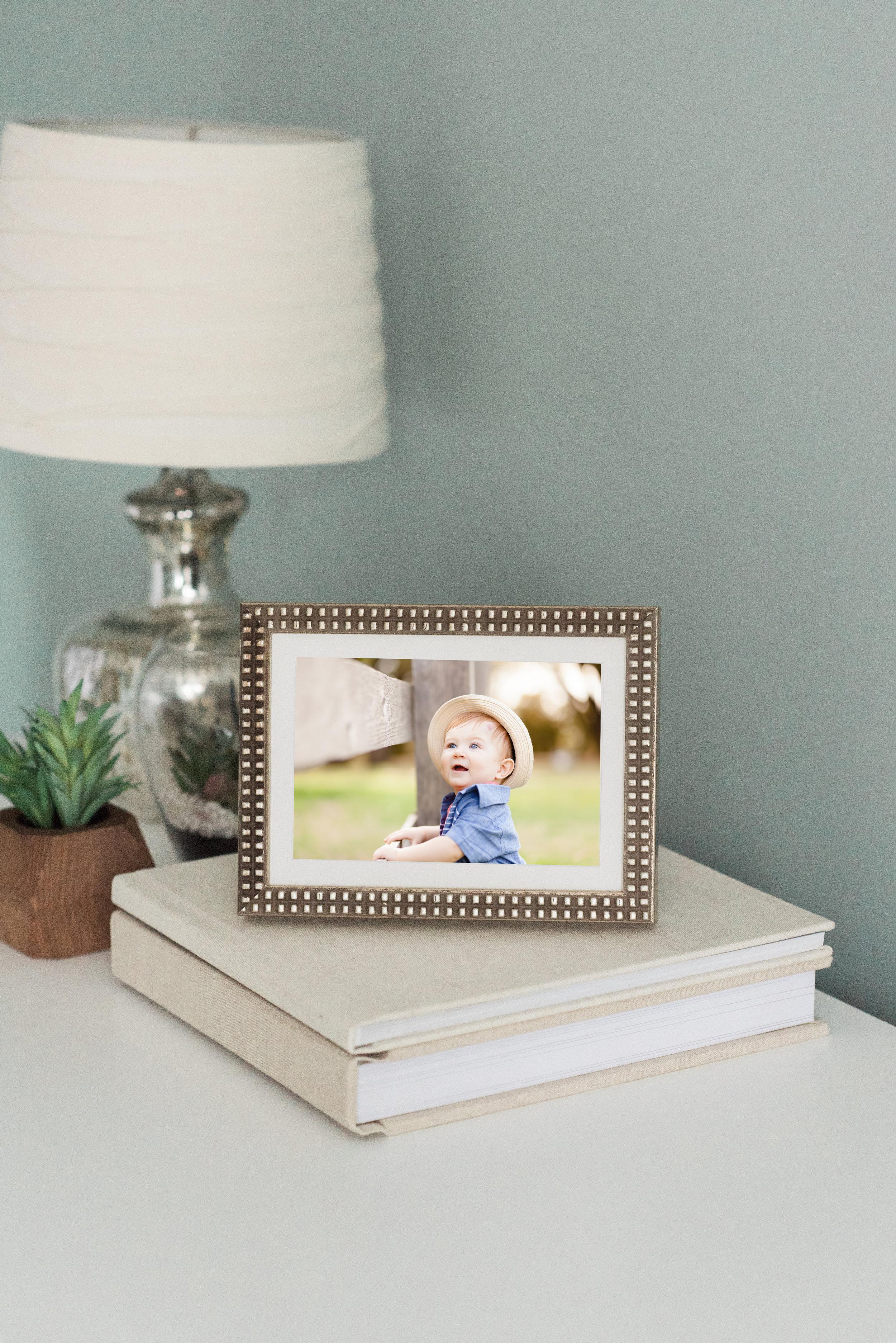 Boho styled photo frame
