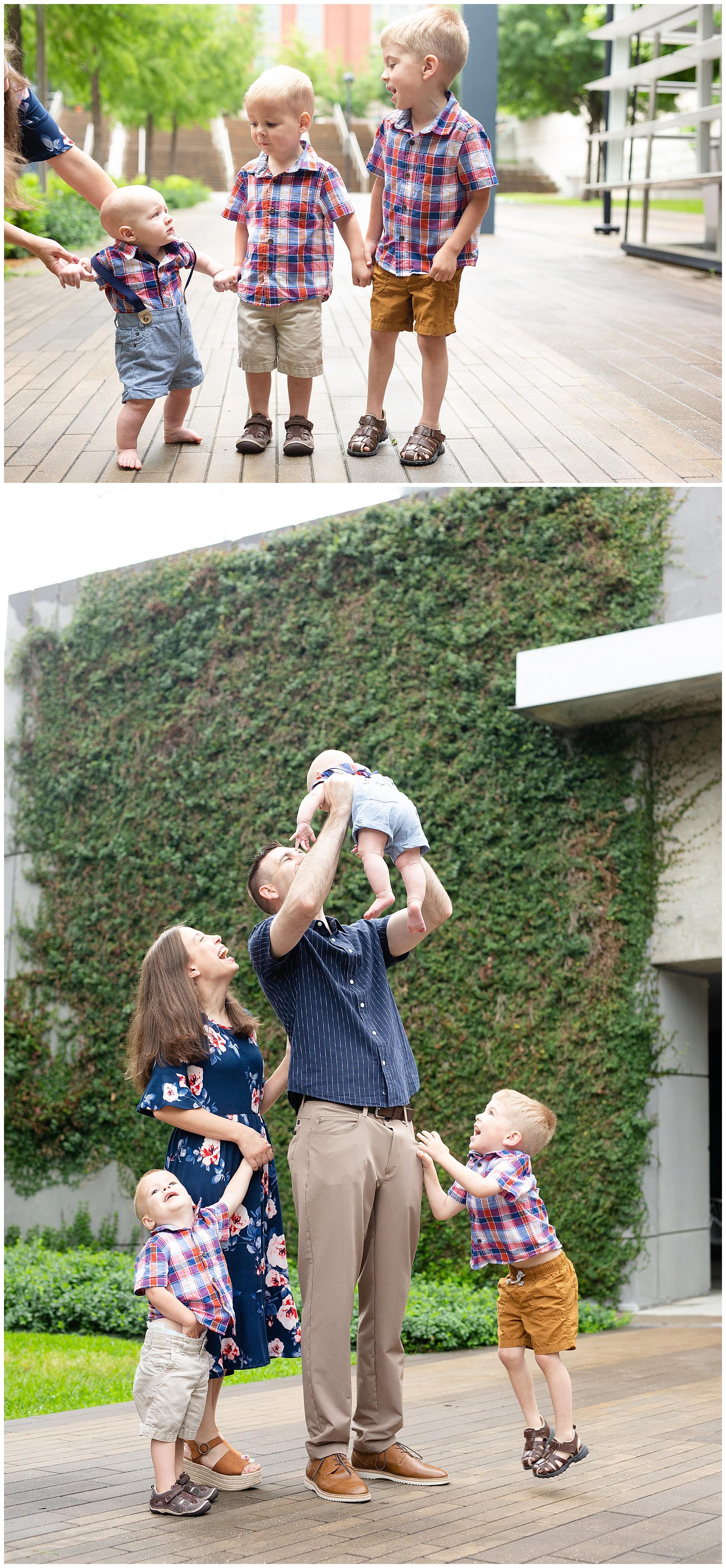 family photo outtakes