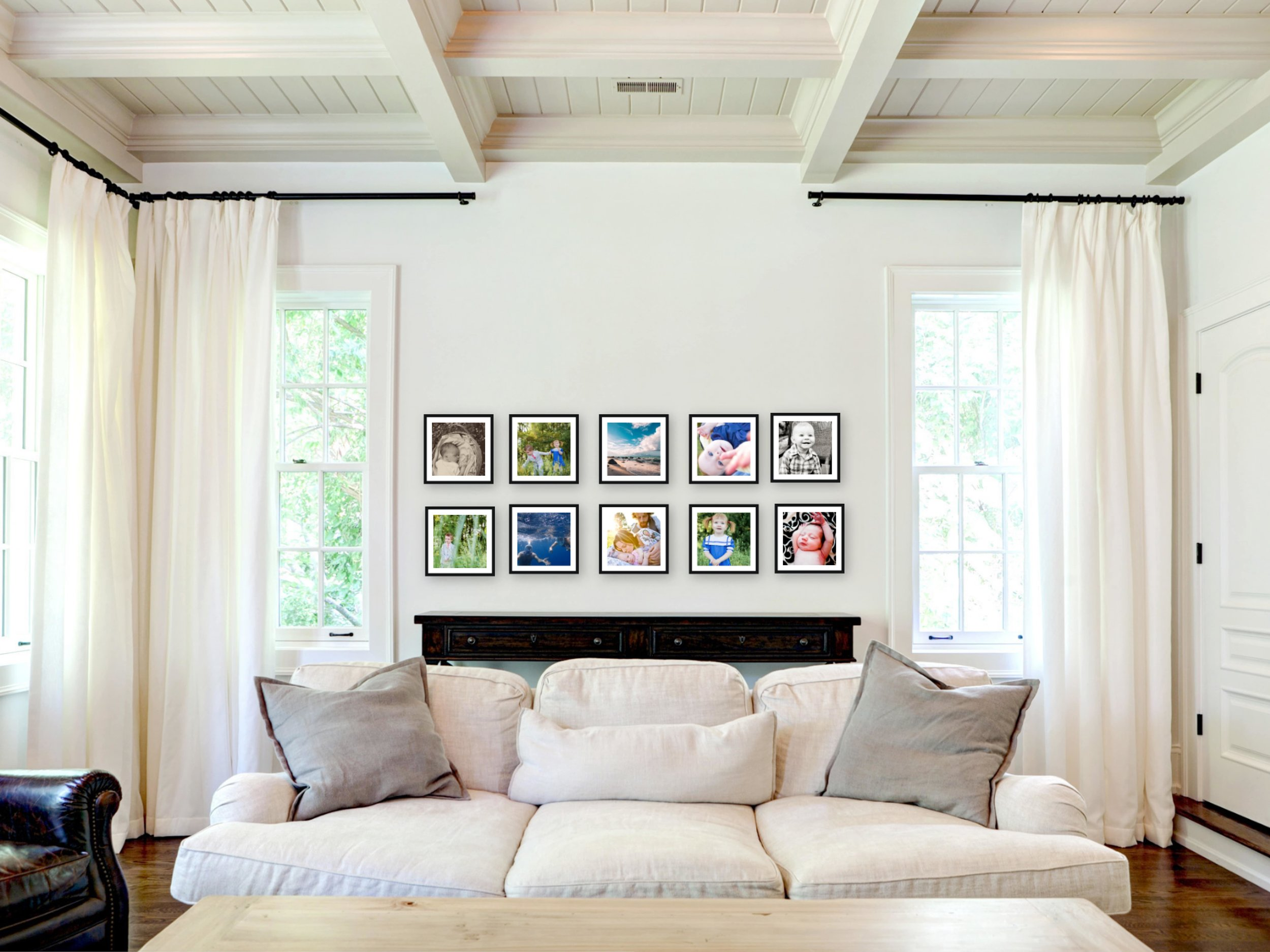 Symmetrical Gallery Inspiration