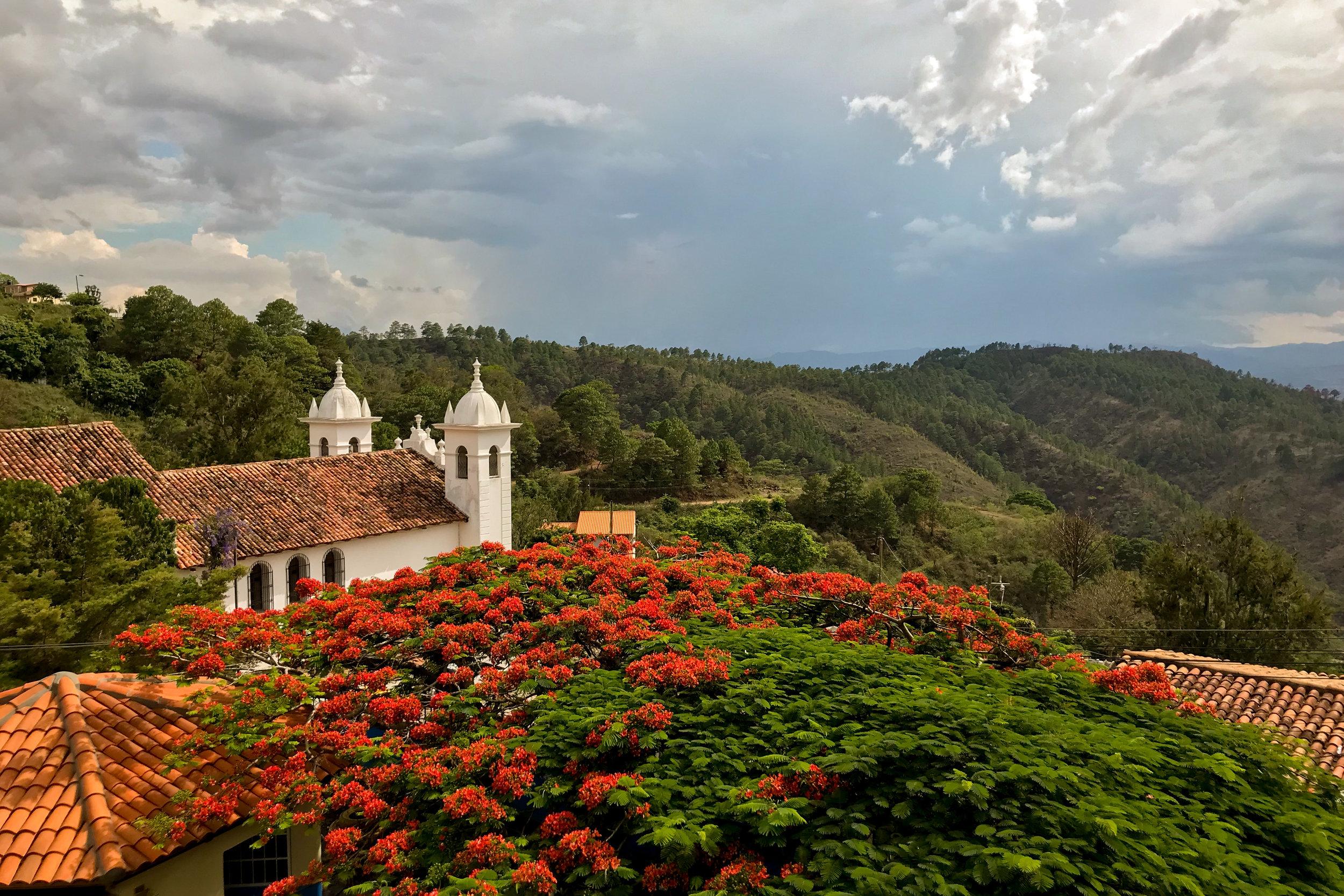 Honduras travel visit honduras Air Water or Land Angel Verde AWOL TV TRAVEL SHOW - Santa Lucia Tegucigalpa
