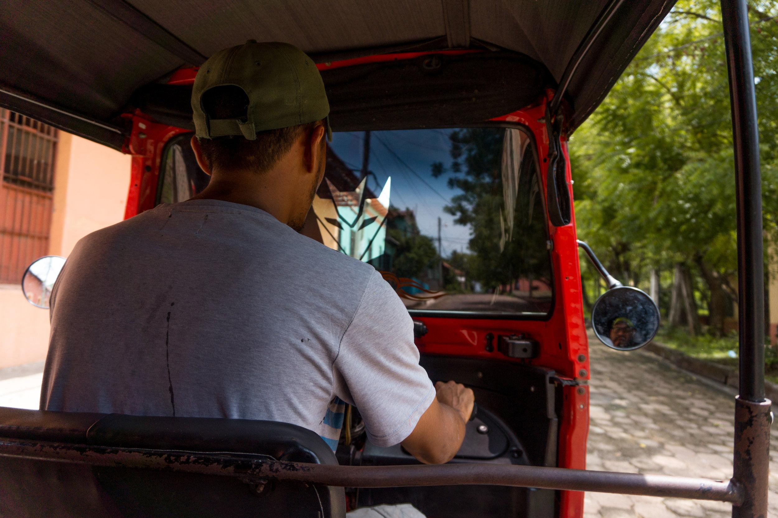Honduras travel visit honduras Air Water or Land Angel Verde AWOL TV TRAVEL SHOW - amapala island playa negro beach moto taxi honduras