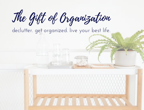 Home Organization Services gift card, Columbus Ohio