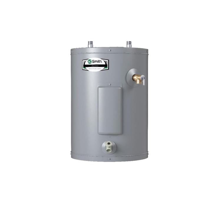Compact electric water heaters