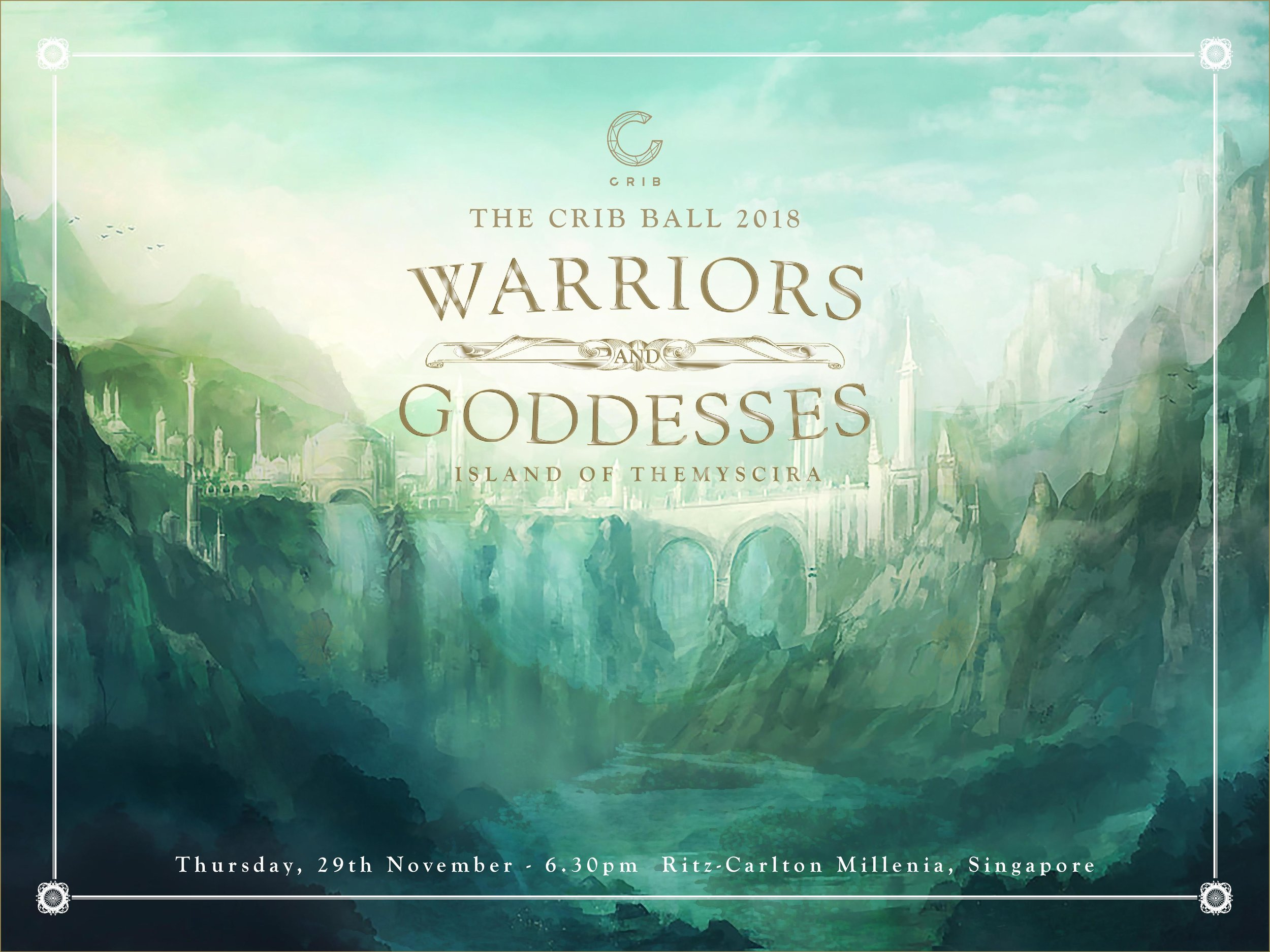 Warriors and Goddesses Banner