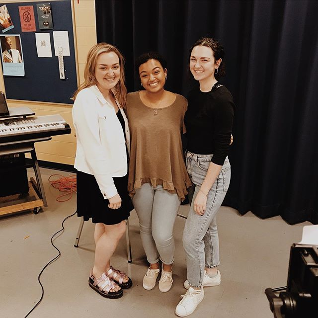 and with that, we are officially WRAPPED on production!! 🎬 s/o to all the schools who were willing to let us hang around and film for hours on end & all the people we met along the way💕