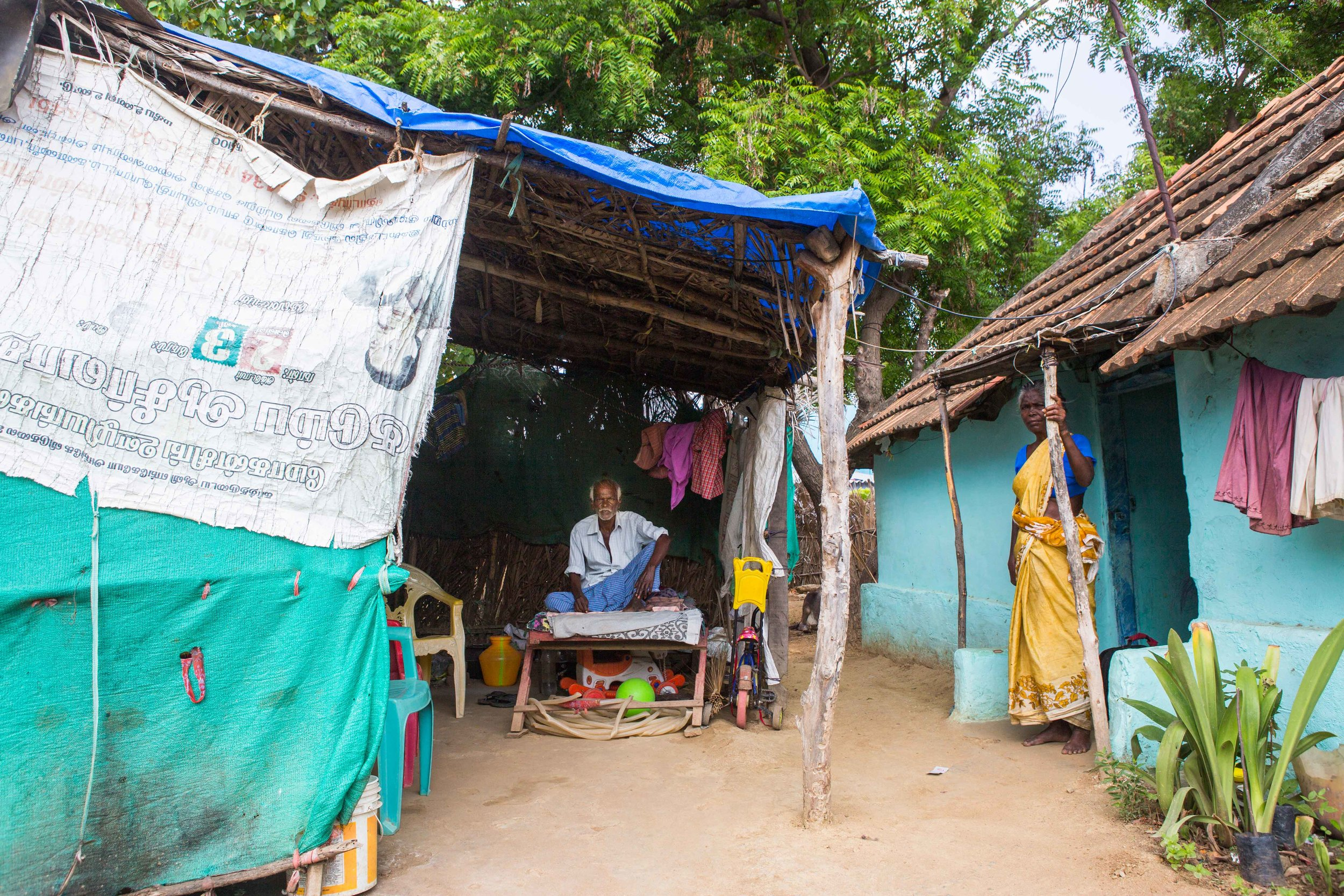 Living with vision loss is unbearable for people who have no savings to fall back on. Poverty and lack of proper support makes it a struggle for existence for many. At a village in Tirunelveli, Tamil Nadu