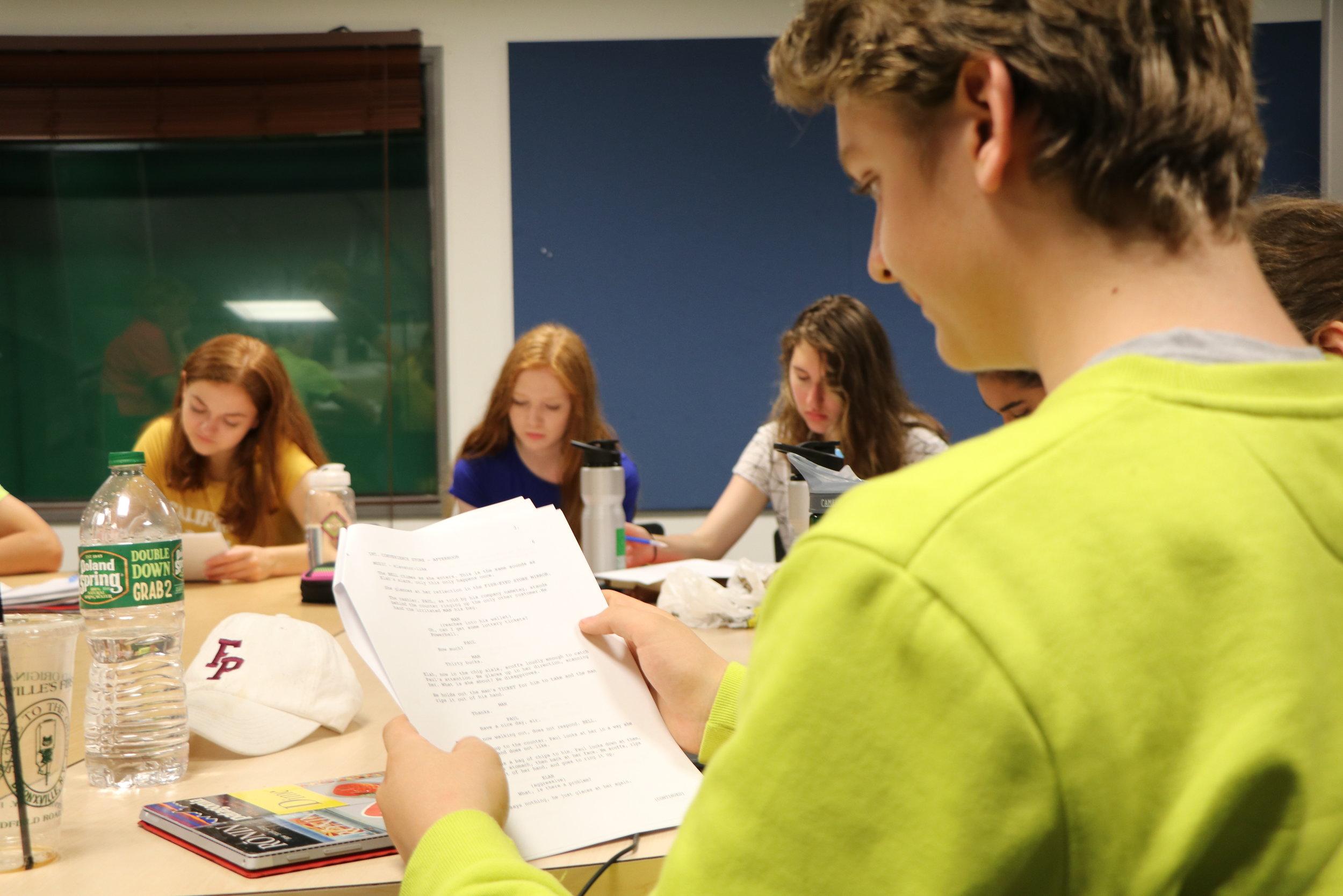 film students summer program