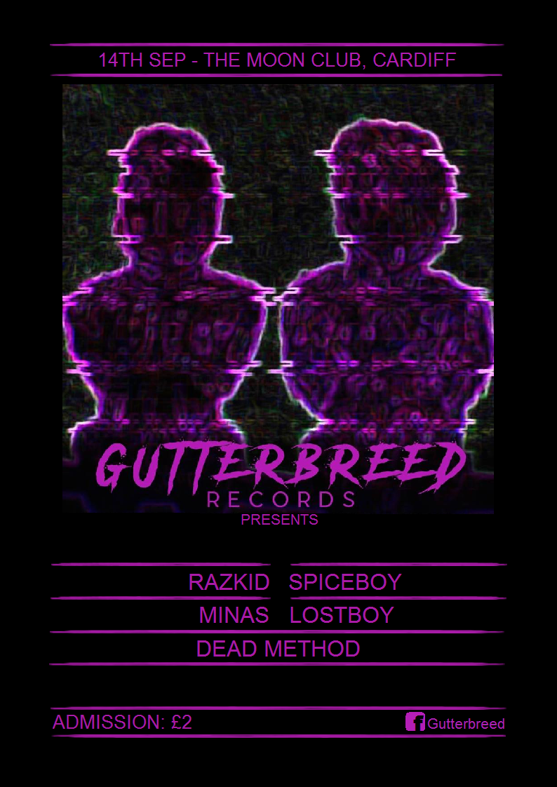 Gutterbreed Launch Night