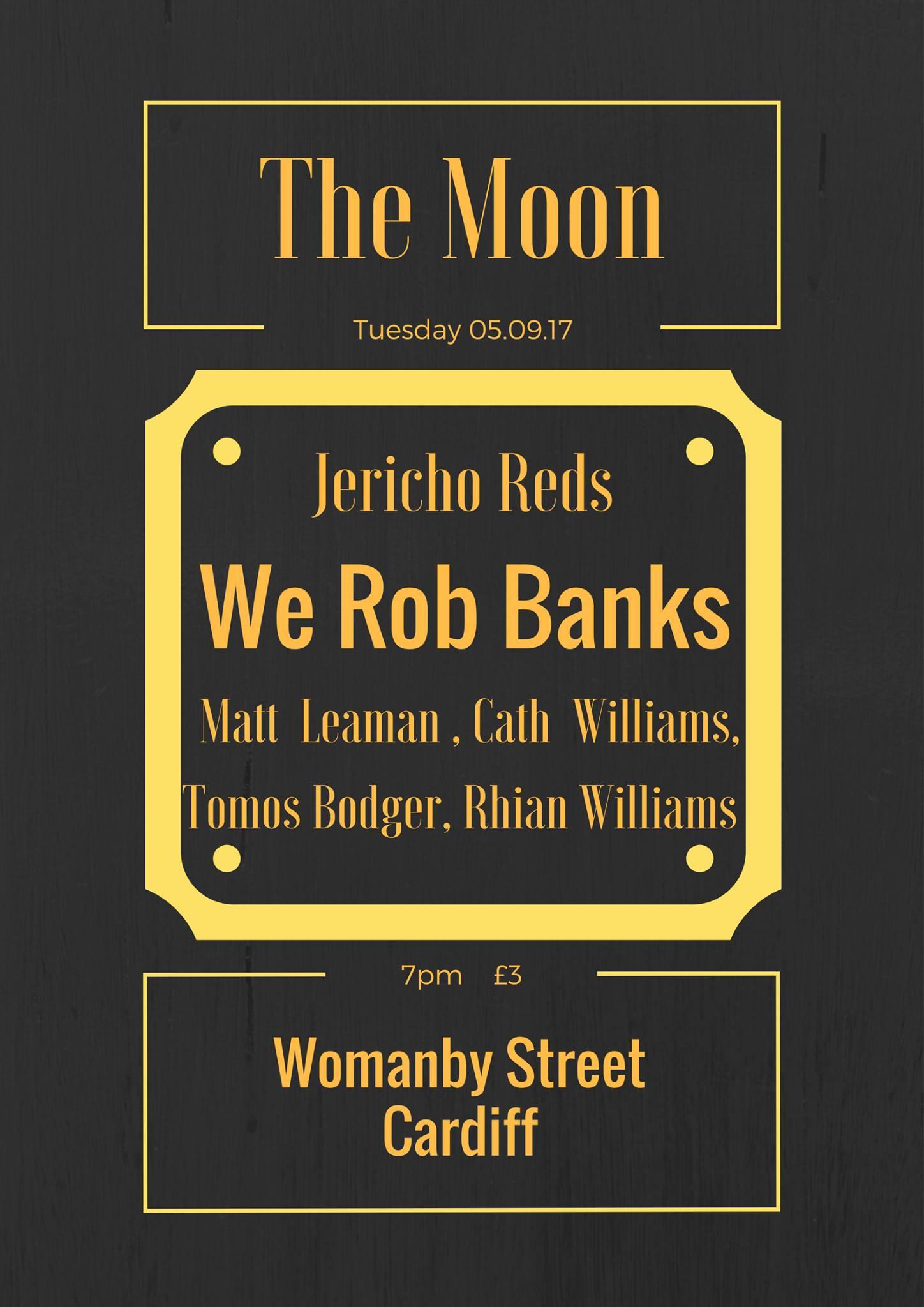 We Rob Banks fundraiser