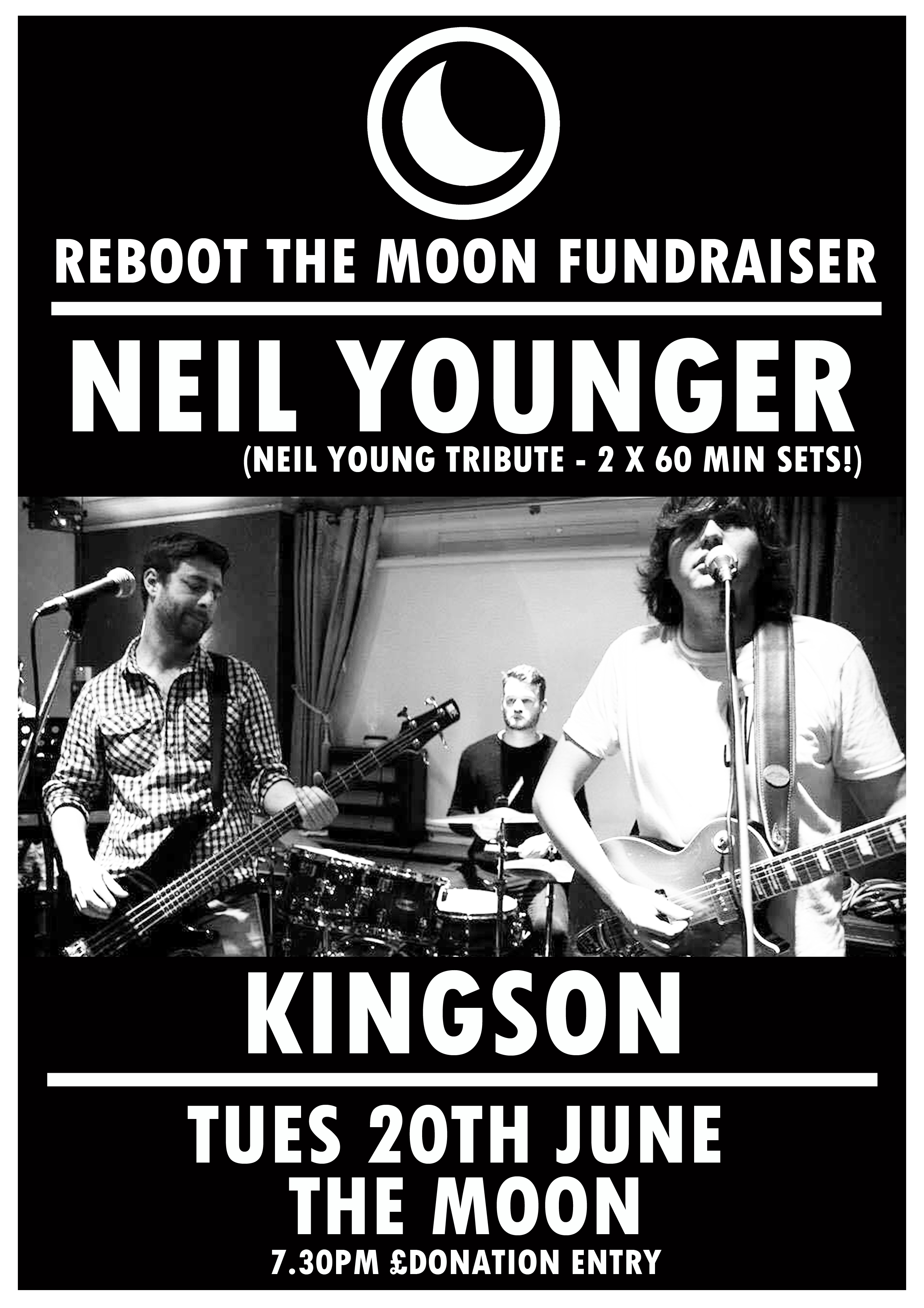 Reboot The Moon Fundraiser: Neil Younger