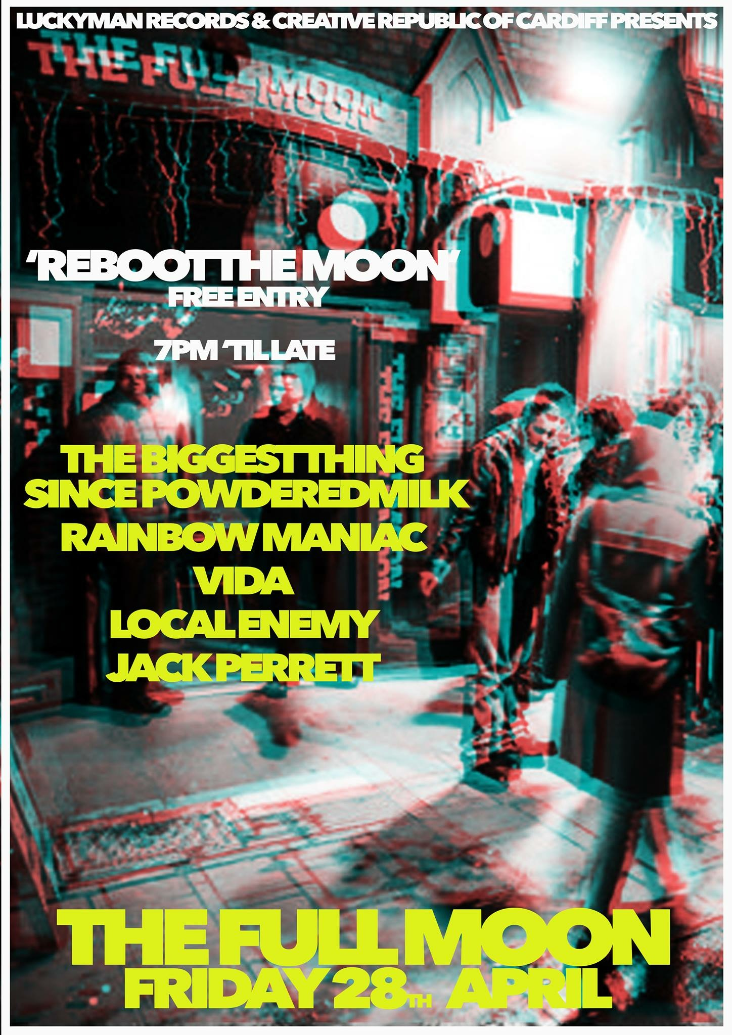 Reboot The Moon: Reopening Party