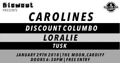 Blowout presents Carolines - Free For All