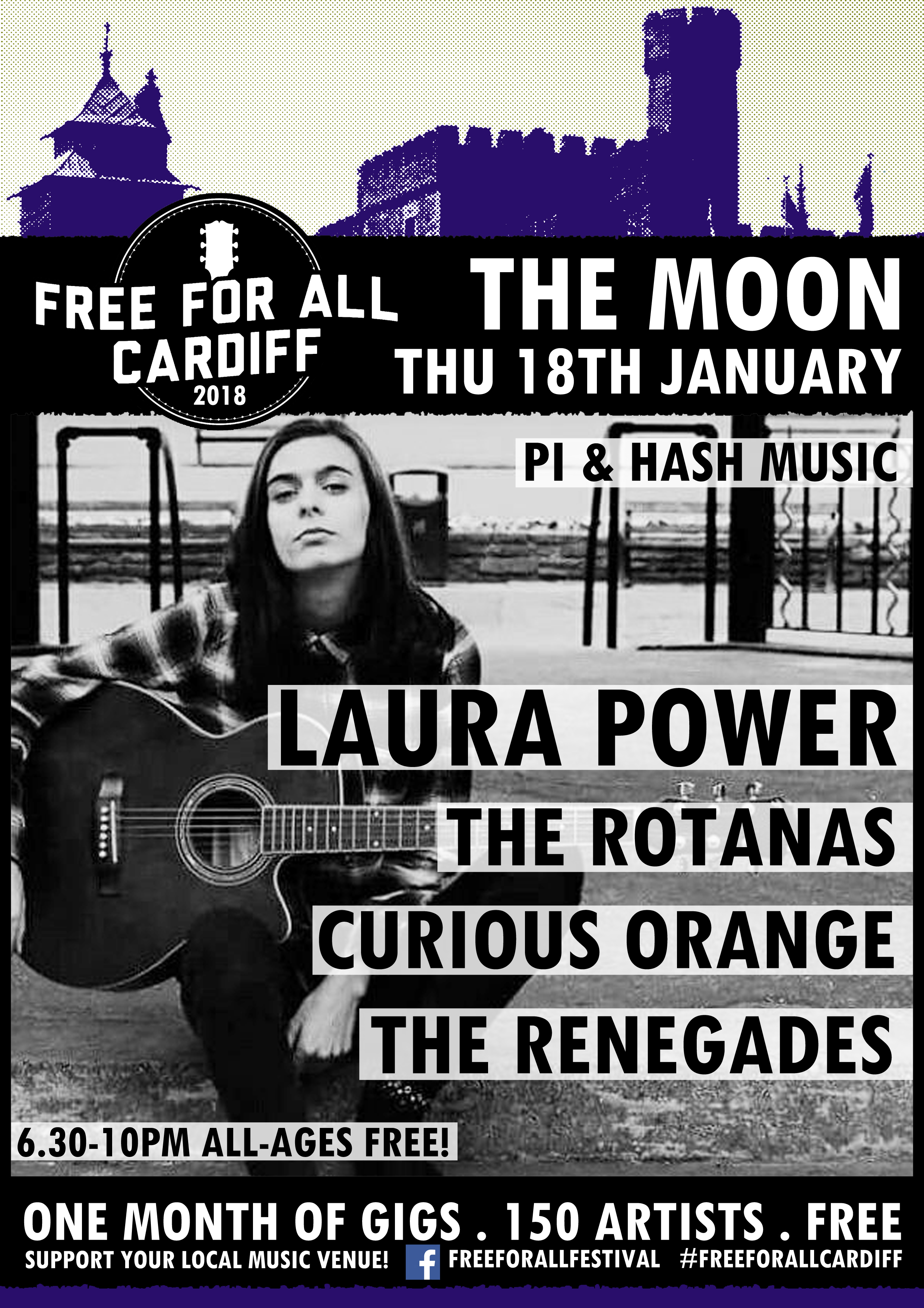 Pi & Hash presents Laura Power - Free For All