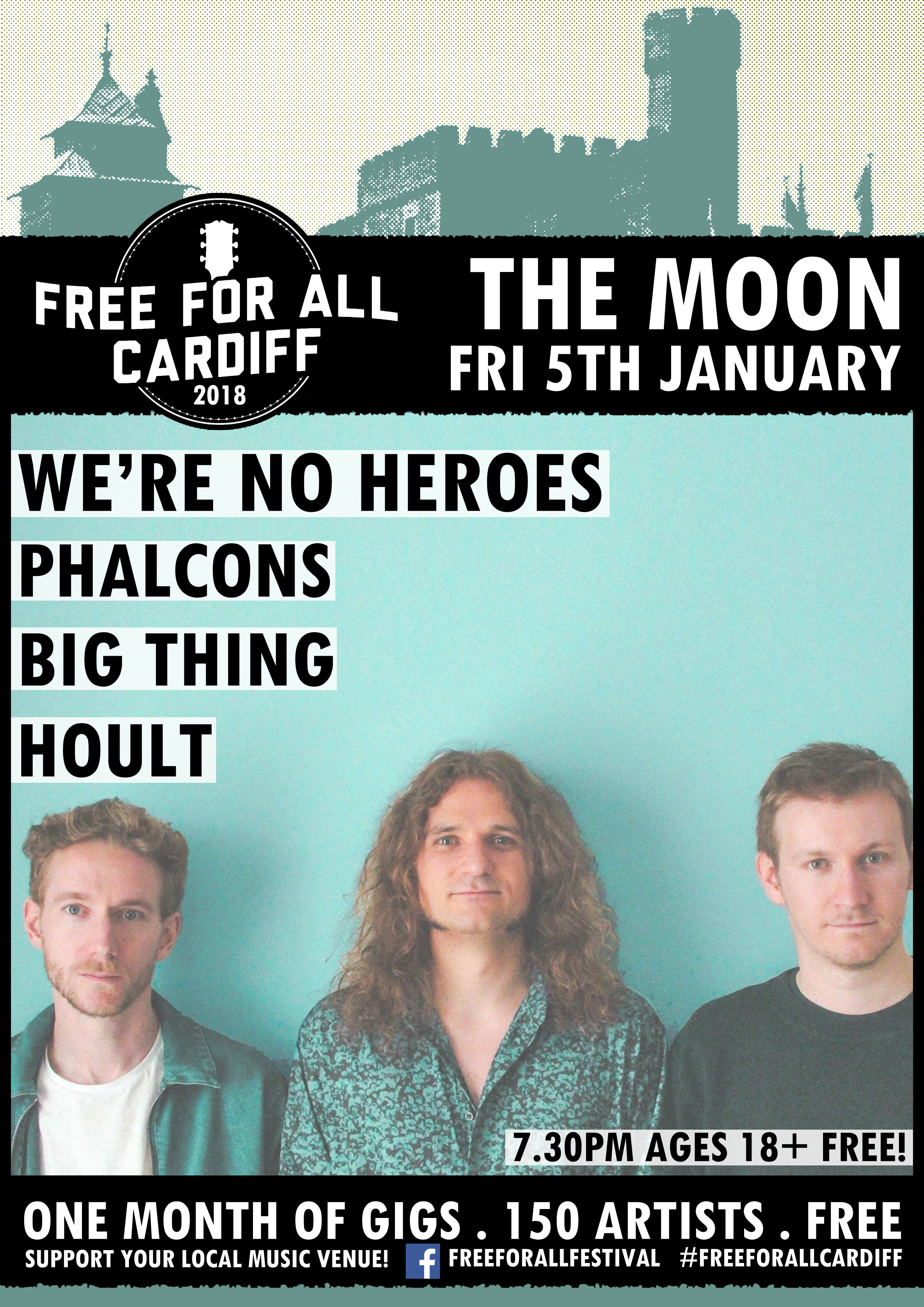 We're No Heroes - Free For All