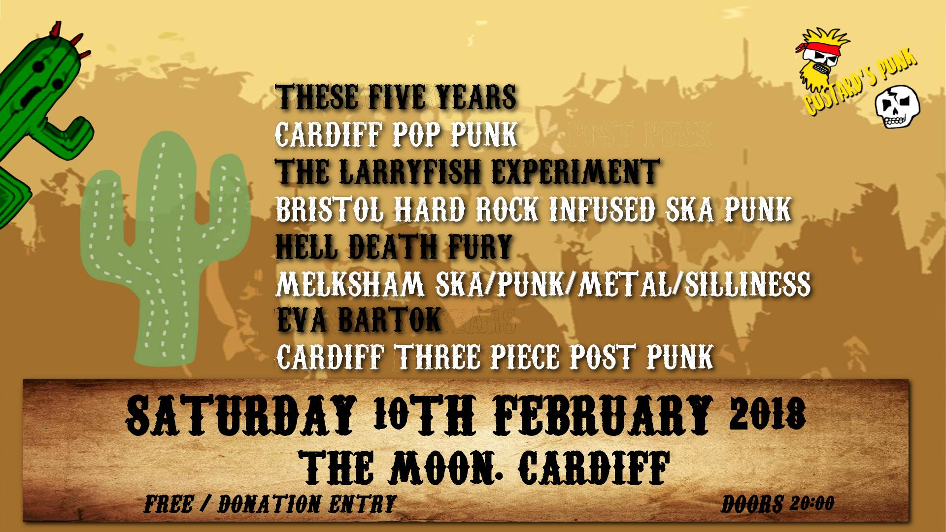 Custard's Punk presents These Five Years