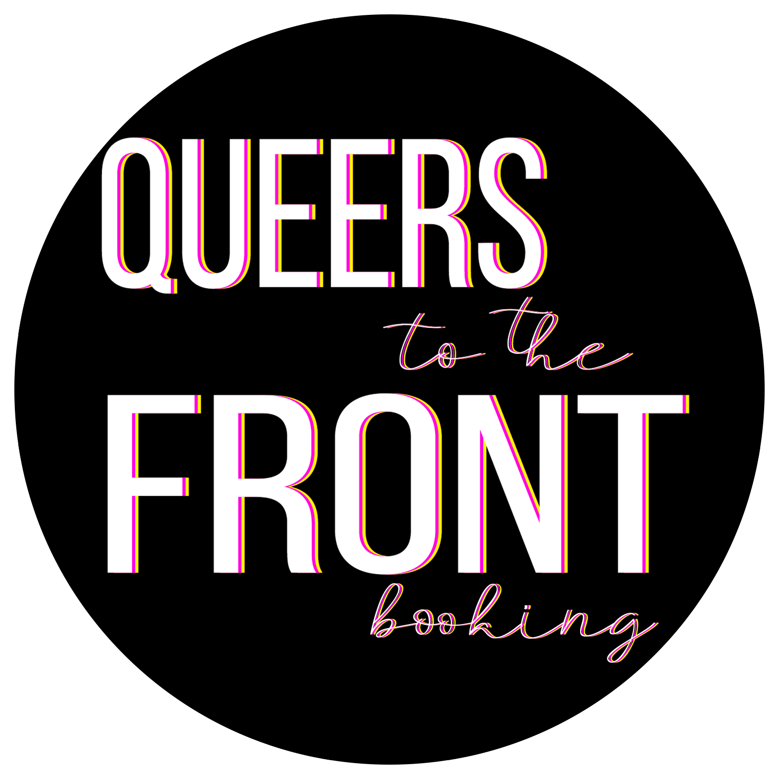 Queers to the front logo.png