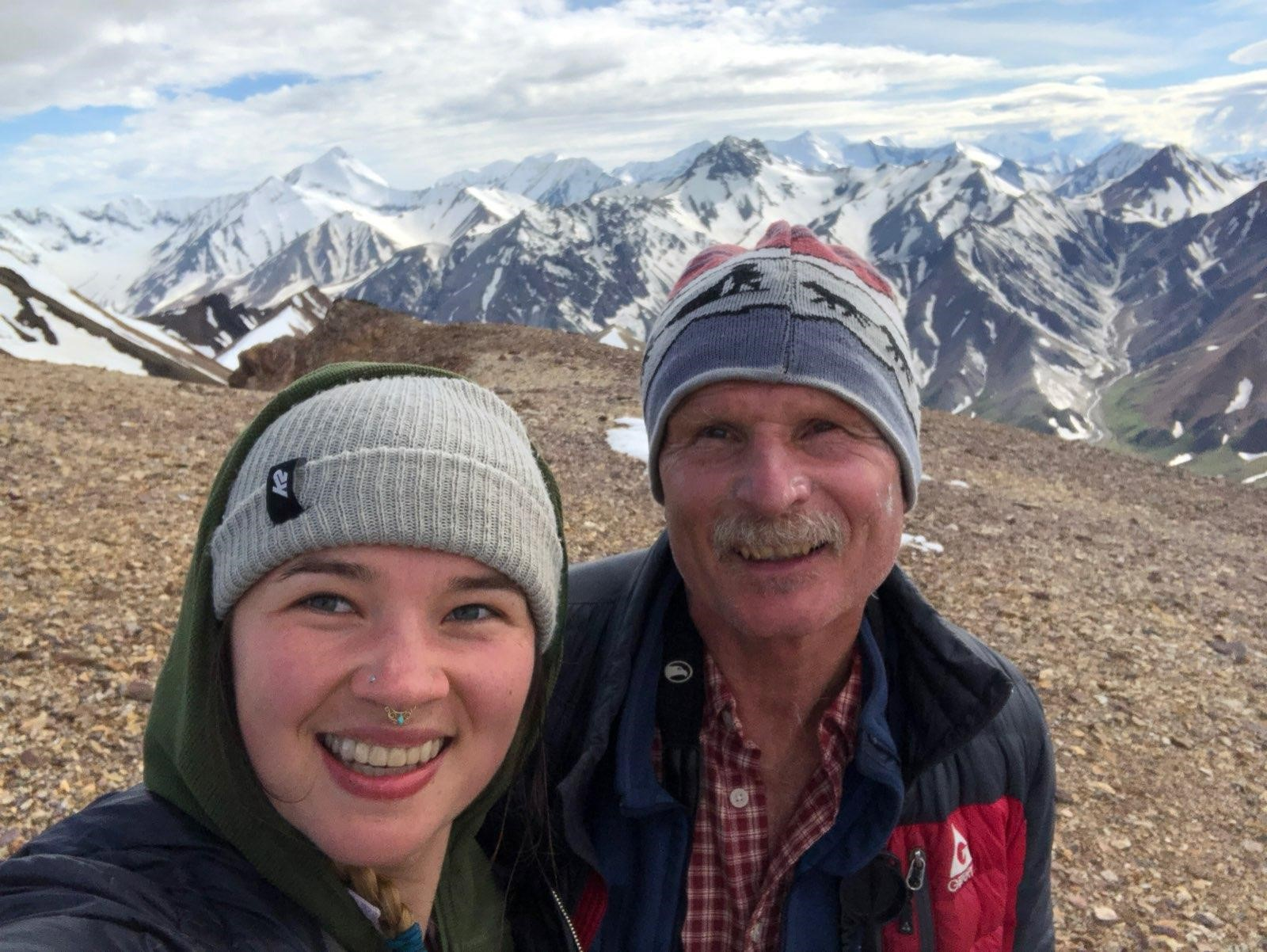 George Wuerthner and his daughter Summer in Alaska