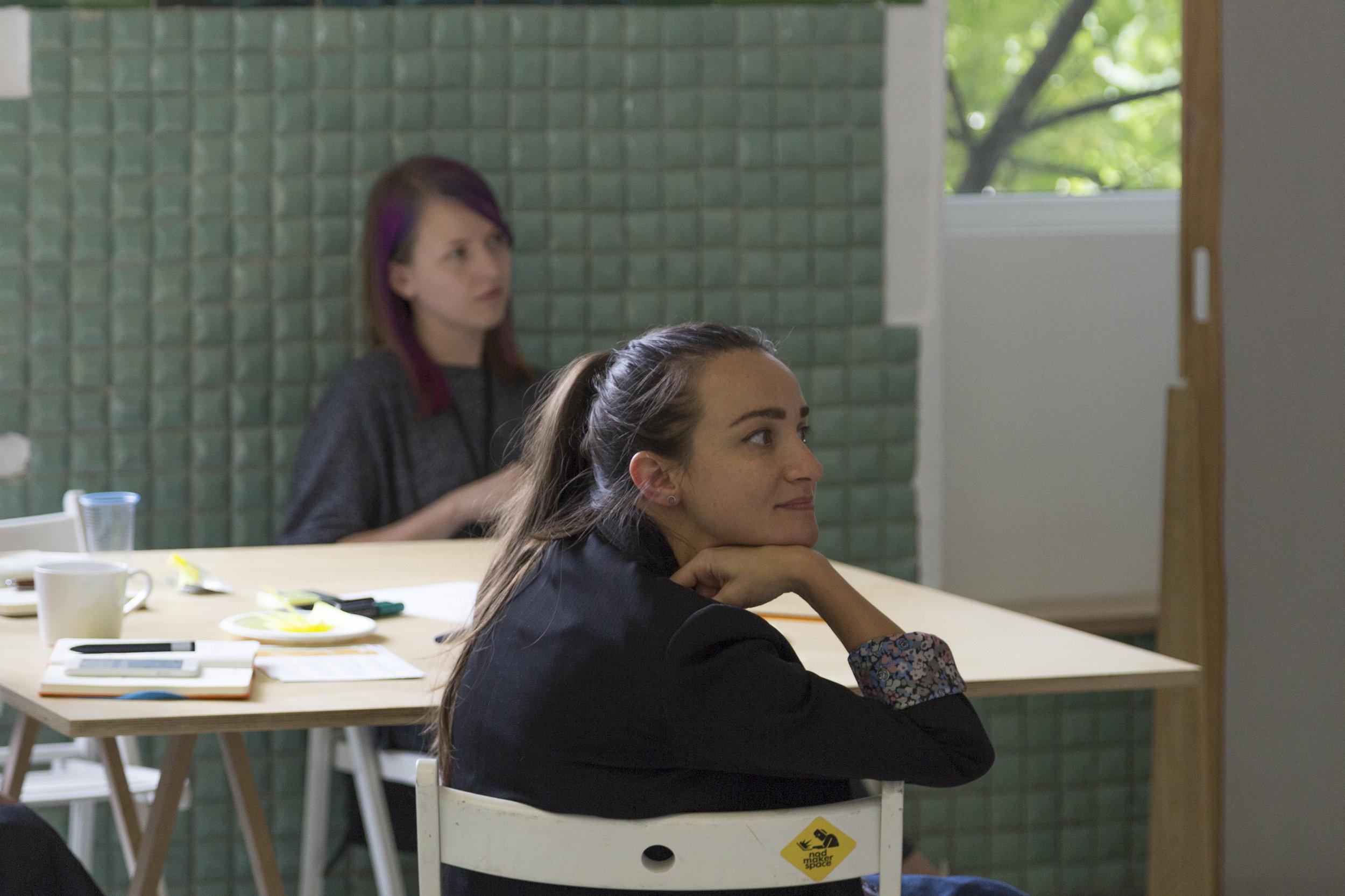 Workshop, Design Track