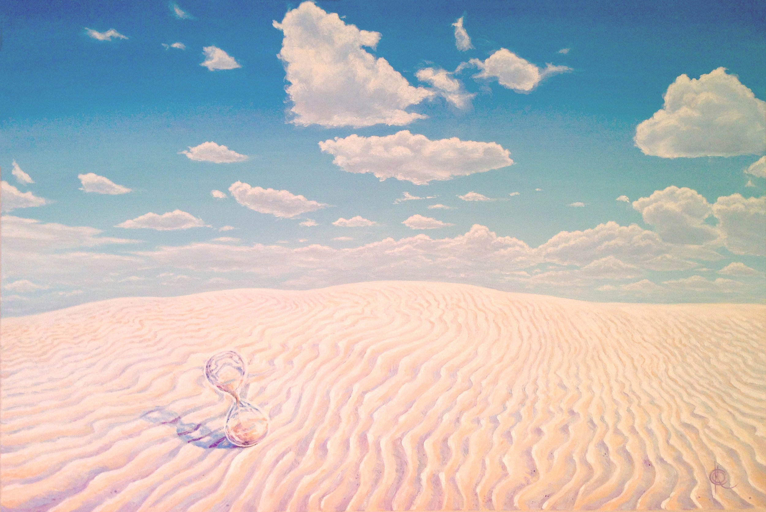 """White Sands. Romans 9:27"""