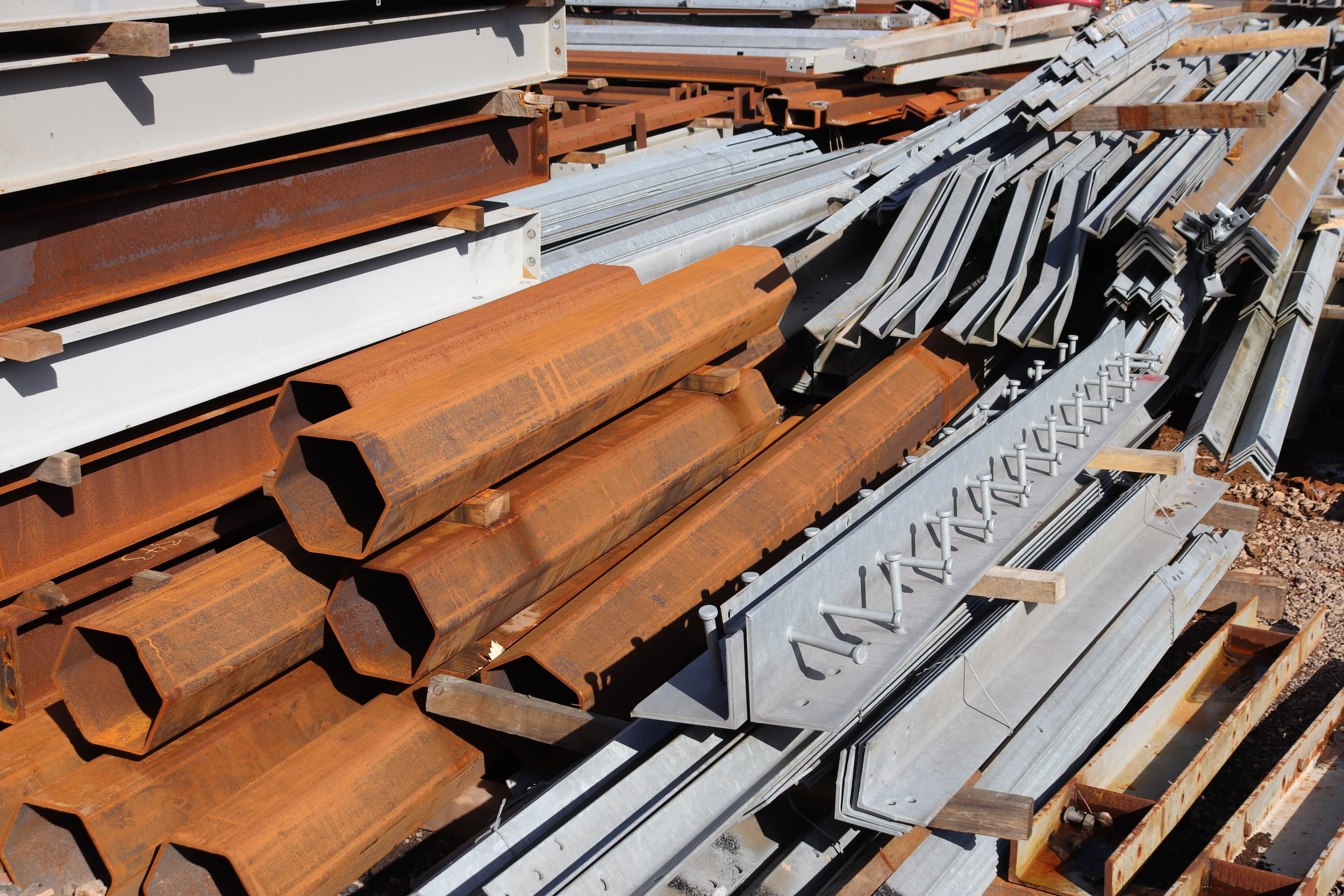 Reclaimed and Salvaged Steel Stock — Reclamation