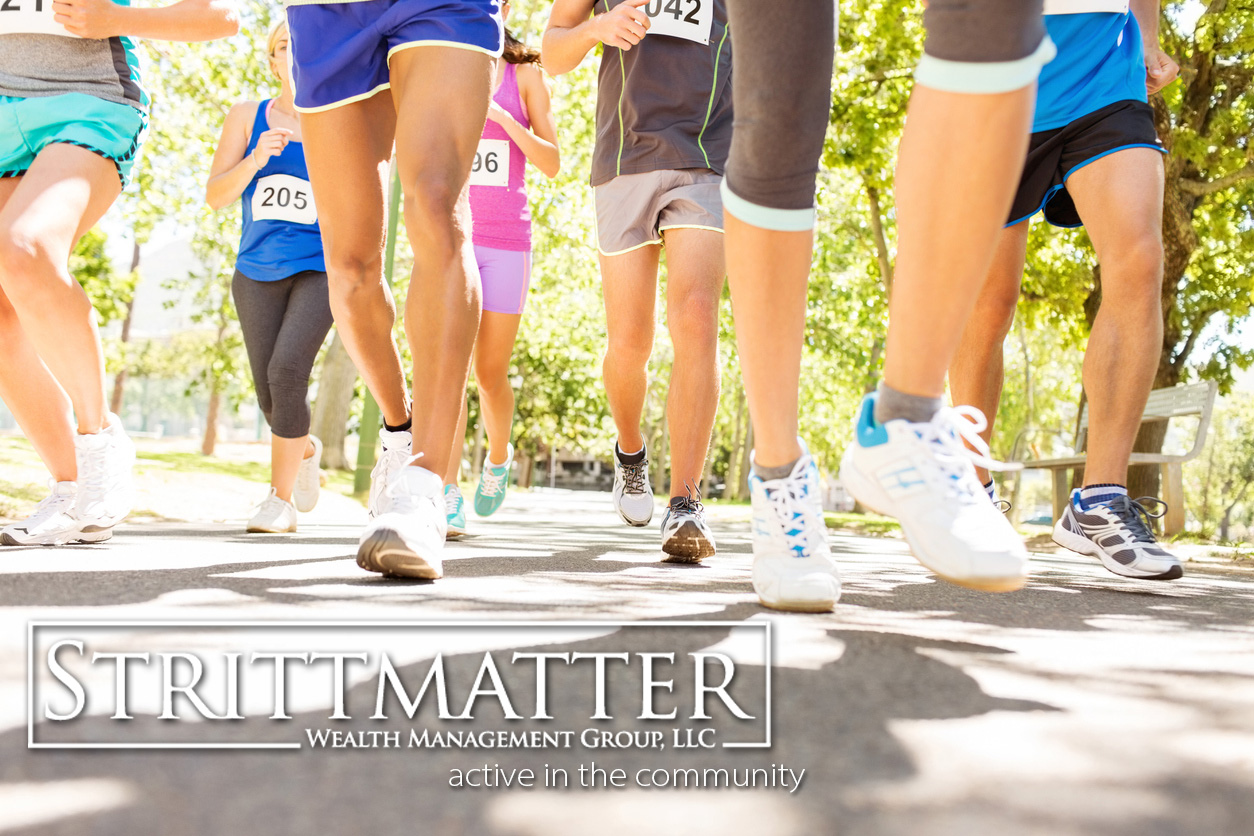 Strittmatter Wealth Management Group Fort Worth Texas Wealth Management Firm Community Event Volunteer Run Honored Hero Run Benefiting the Leukemia Lymphoma Society Run