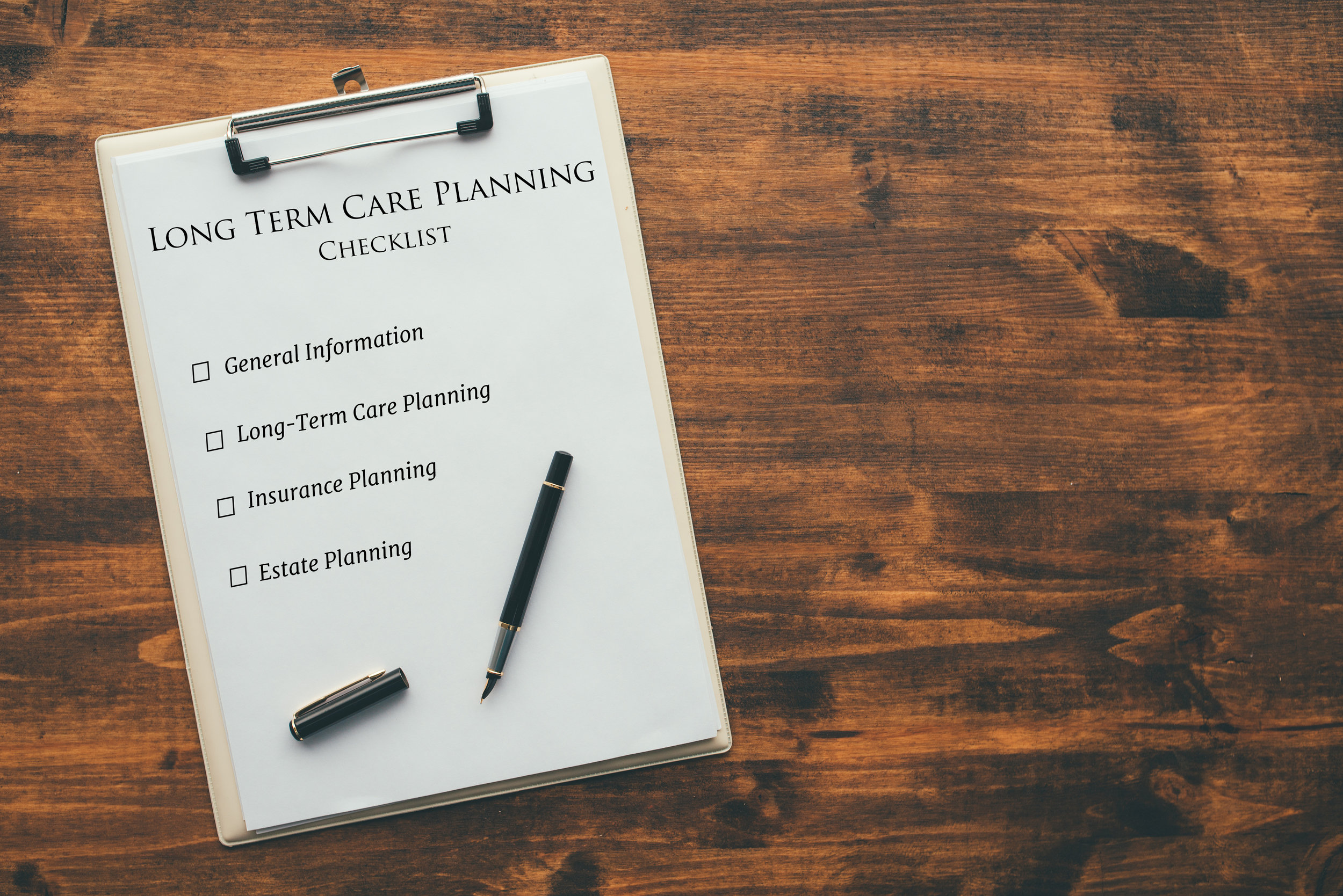 Strittmatter Wealth Management Group Fort Worth Texas Wealth Management Firm Financial Education Resources Long Term Care Planning Checklist