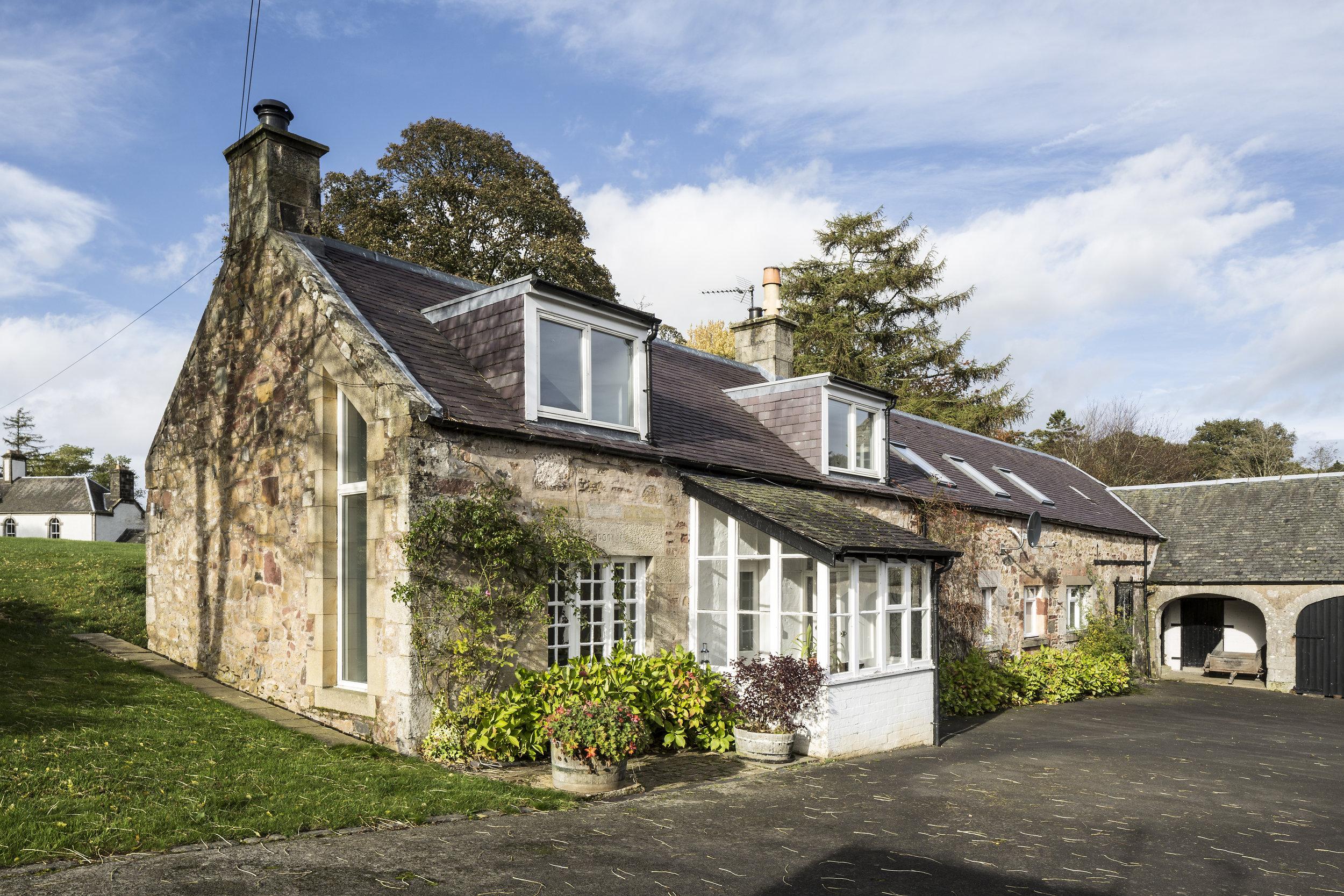 Scotstoun Farmhouse, West Linton