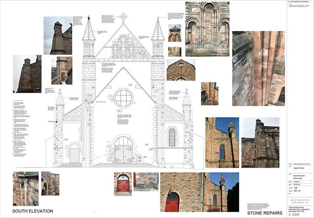 GMA are working with @stephennewsomarchitect on fabric repairs, access arrangements and internal improvements to St Margaret's Church in Dunfermline. The building was originally designed by Rowand Anderson in 1889. Works programmed to go on site this summer. #scottisharchitecture #churcharchitecture #listedbuilding #stonerepair #conservation