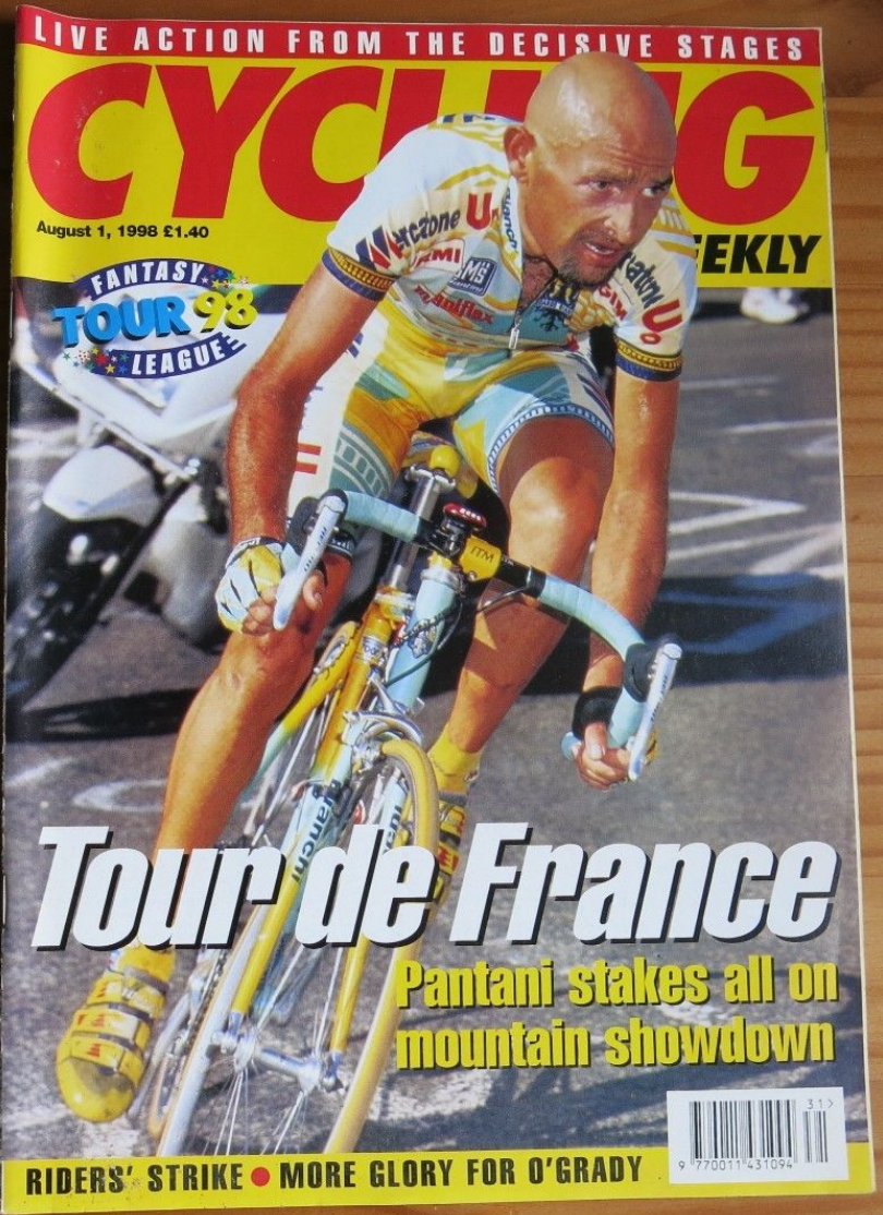 One of the first (if not the first) issues of  Cycling Weekly  I worked on.
