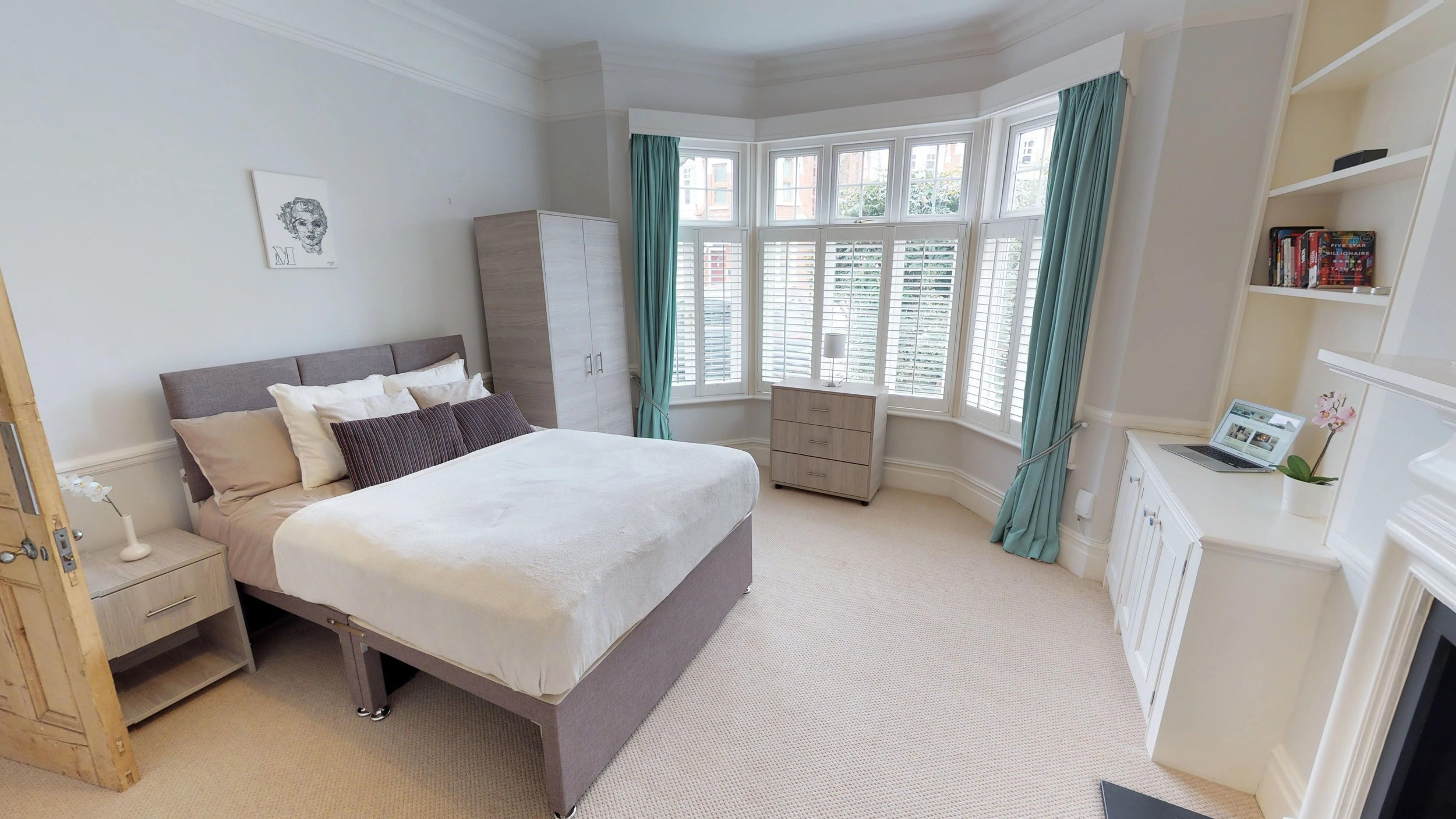 Urban Shared bedroom