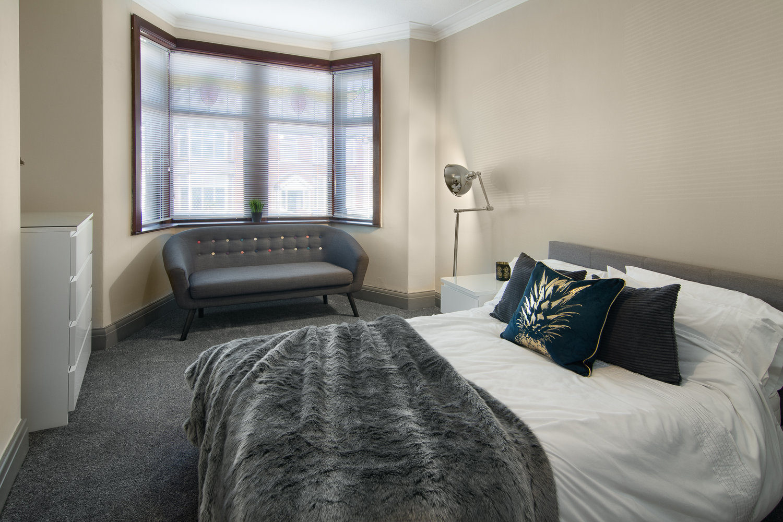 Lancashire Hill bedroom