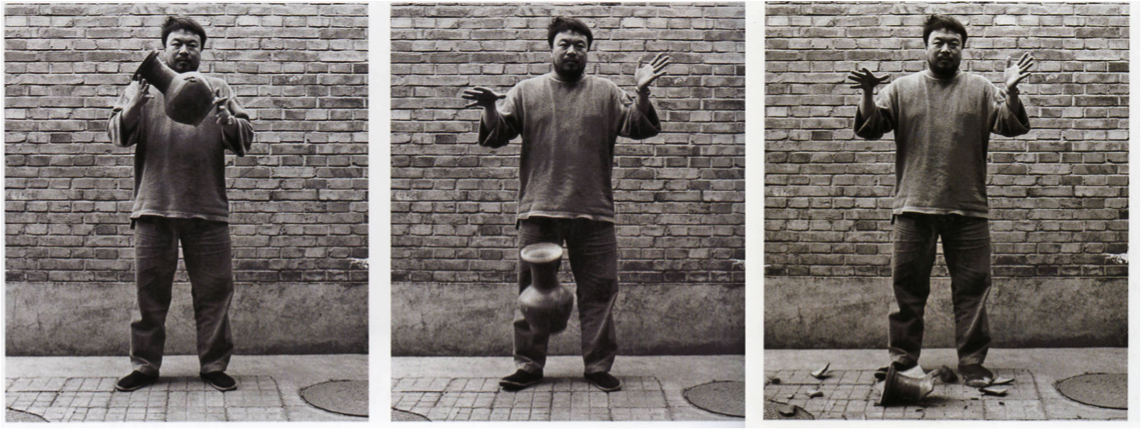 Dropping a Han Dynasty Urn  (1995) By Ai Weiwei