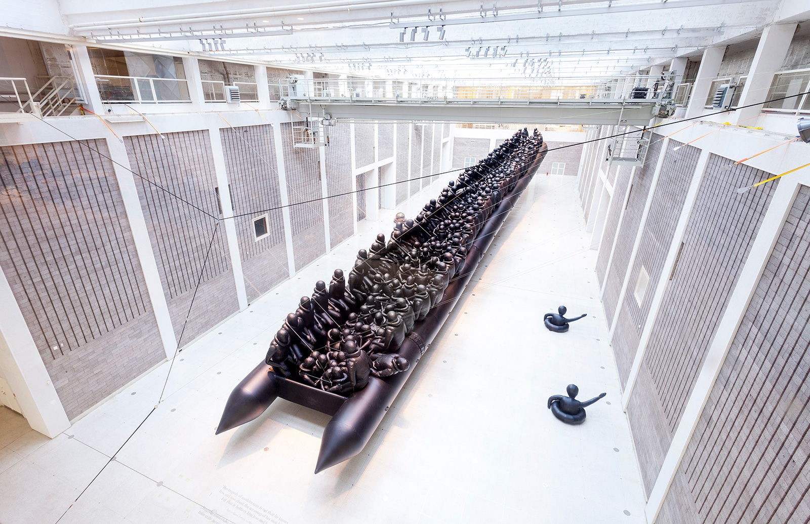 Law of the journey  Ai Weiwei, National Gallery, Prague