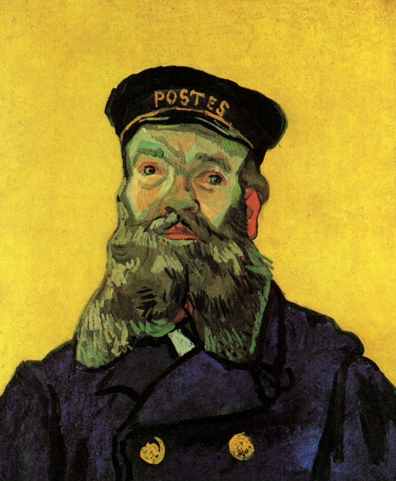 Portrait of Postman Joseph Roulin