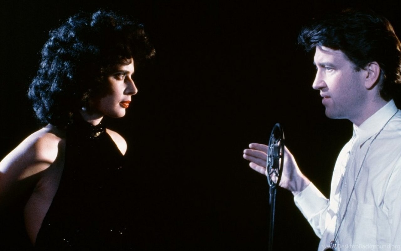 Isabella Rossellini and David Lynch, BTS  Blue Velvet  (1986)